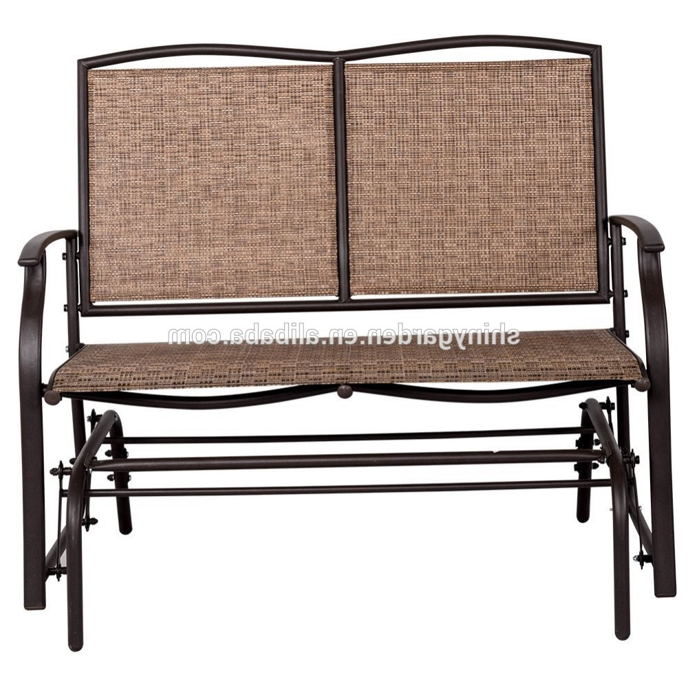 Most Recently Released 2 Person Loveseat Chair Patio Porch Swings With Rocker Pertaining To Modern Outdoor 2 Person Loveseat Glider Bench Double Chair,patio Porch Swing Designs With Rocker Chair – Buy Double Chair Swing,modern Outdoor Patio (Gallery 16 of 30)