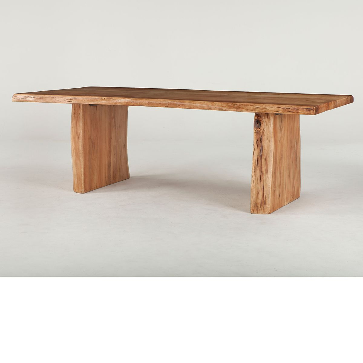 Most Recently Released Acacia Dining Tables With Black Rocket Legs Throughout The Dump Furniture – Live Edge Dining Table (View 17 of 30)