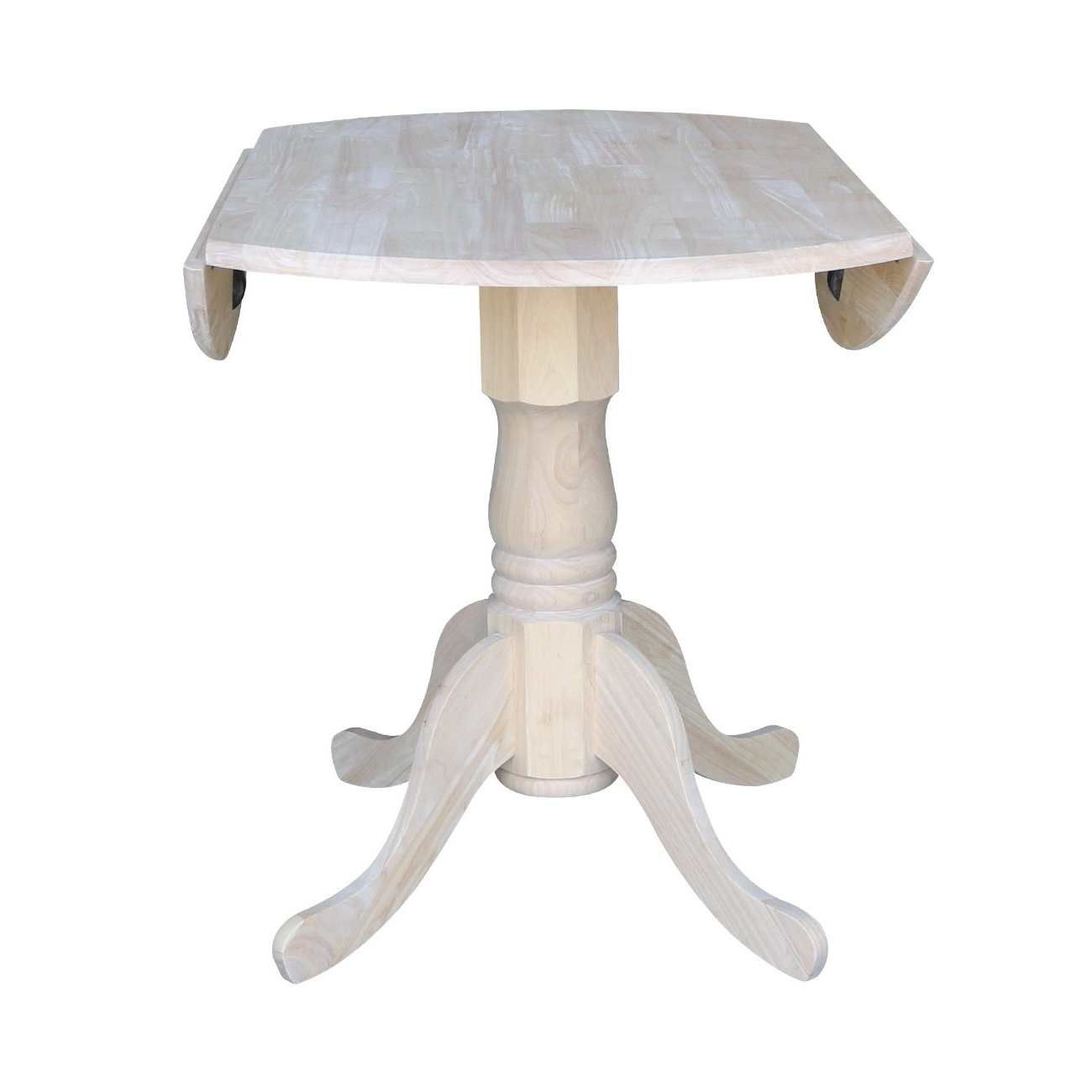 Most Recently Released Amazon – International Concepts Unfinished Round 36 Inch Intended For Unfinished Drop Leaf Casual Dining Tables (Gallery 1 of 30)