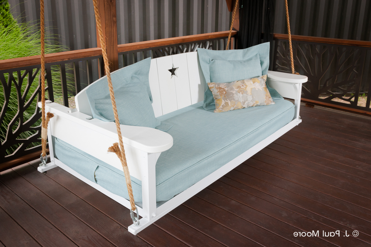 Most Recently Released Americana Bed Swing – The Porch Company With Nautical Porch Swings (View 11 of 30)