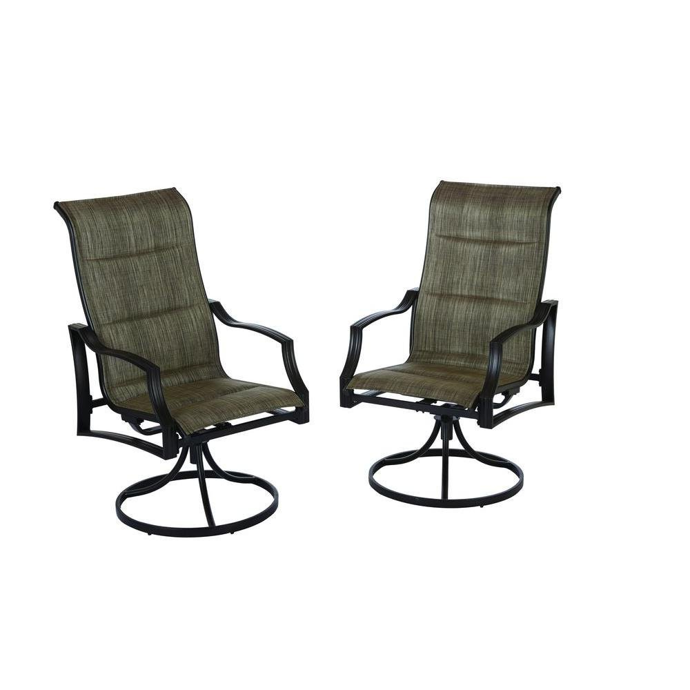 Most Recently Released Cheap Hampton Bay Patio, Find Hampton Bay Patio Deals On For Padded Sling Loveseats With Cushions (Gallery 8 of 30)