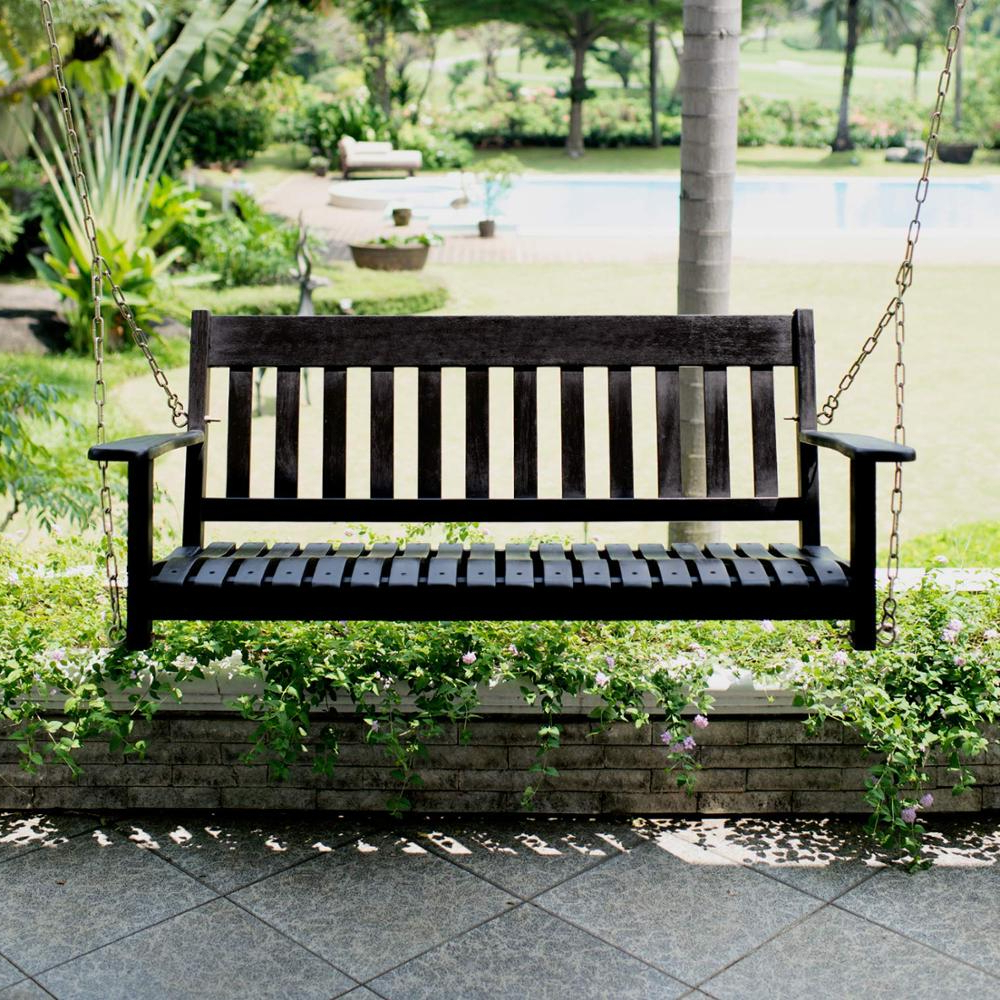 Most Recently Released China Swing Bench, China Swing Bench Manufacturers And Within 2 Person Antique Black Iron Outdoor Swings (Gallery 30 of 30)