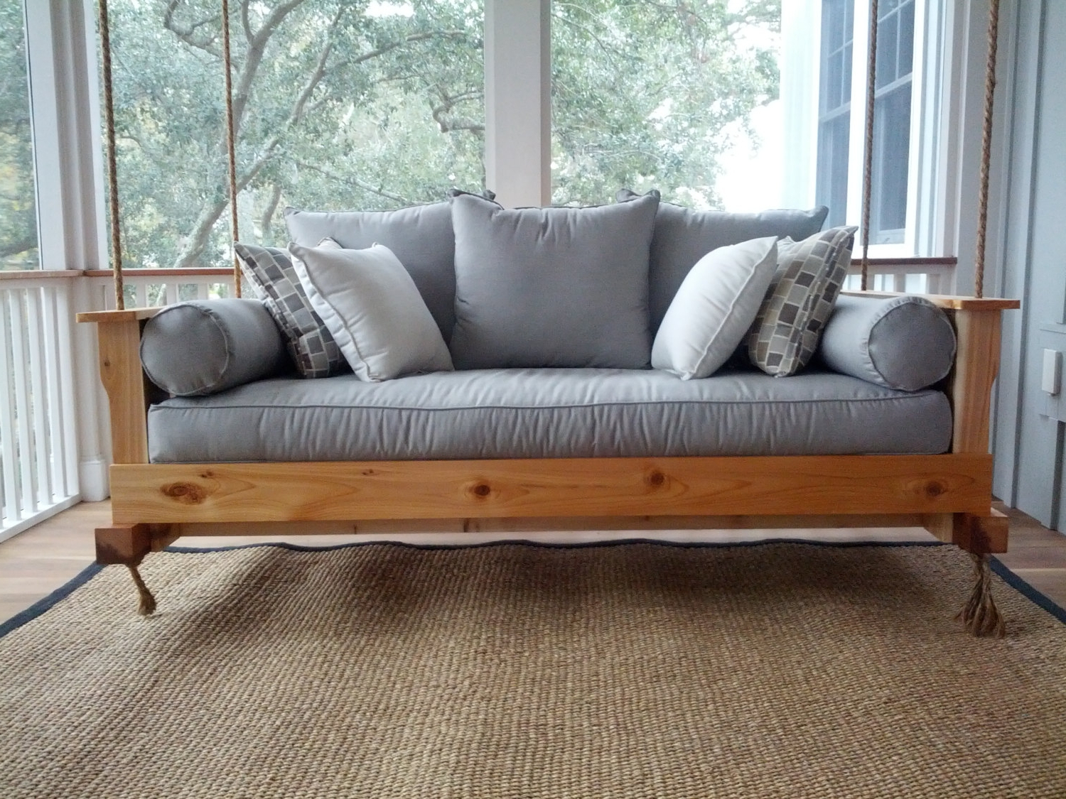 Most Recently Released Day Bed Porch Swings Regarding Daybed Porch Swing Cushions (Gallery 6 of 30)