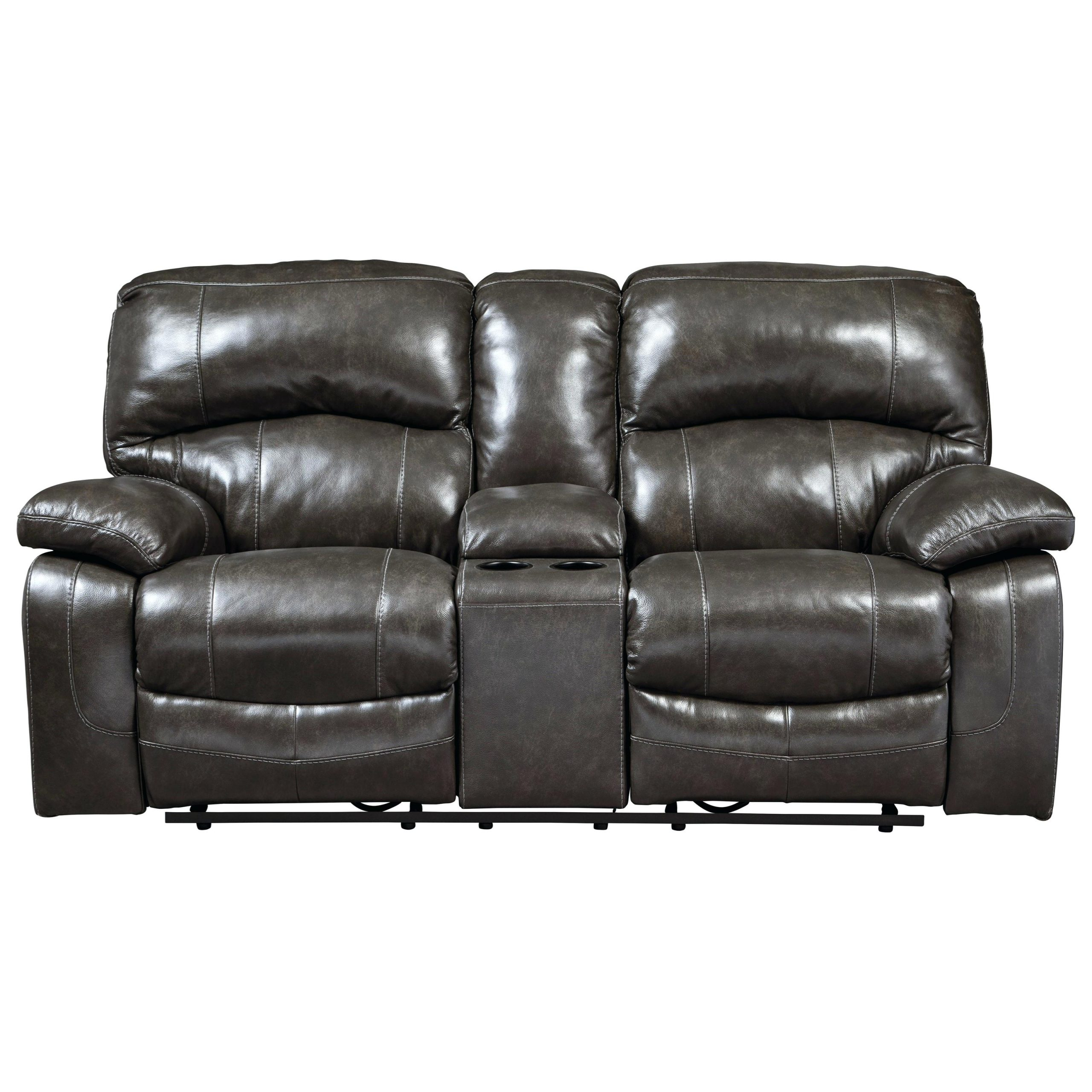 Most Recently Released Double Glider Loveseats With Regard To Damacio Power Glider Reclining Loveseat With Console Gliding (Gallery 18 of 30)