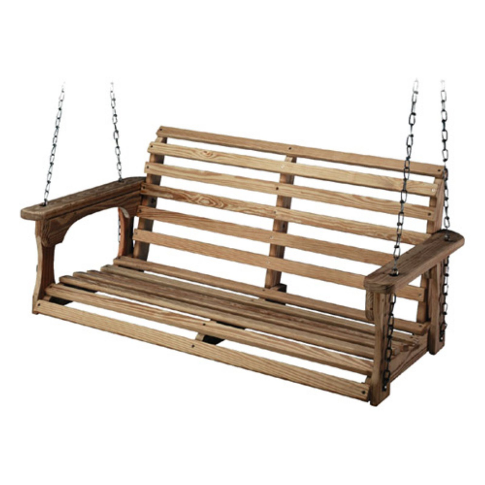 Most Recently Released Fordyce Porch Swings Intended For Beecham Swing Co. Roll Back Treated Wood Porch Swing In 2019 (Gallery 6 of 30)