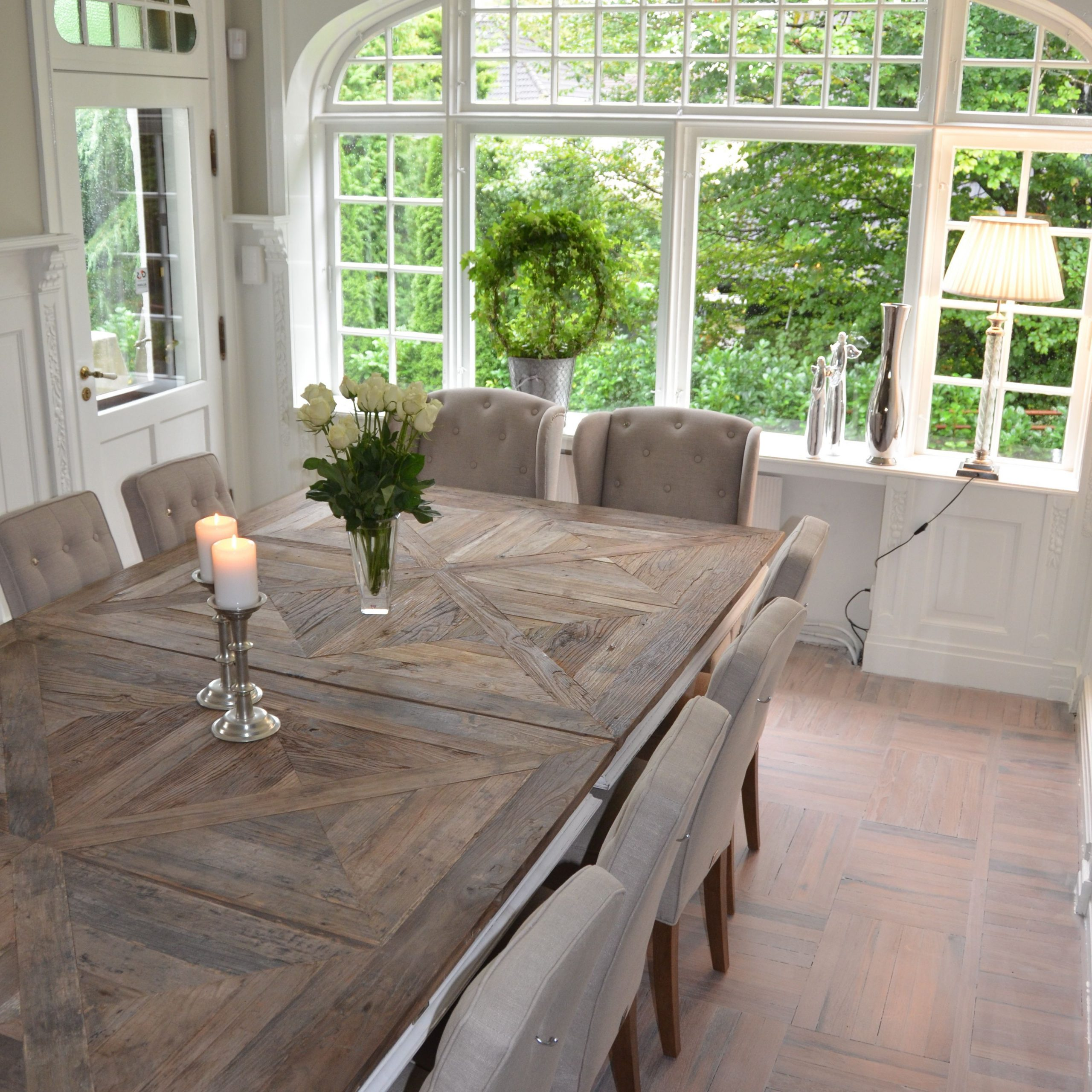 Most Recently Released Large Rustic Look Dining Tables Regarding Farmhouse Dining Table Ideas For Cozy, Rustic Look (View 3 of 30)
