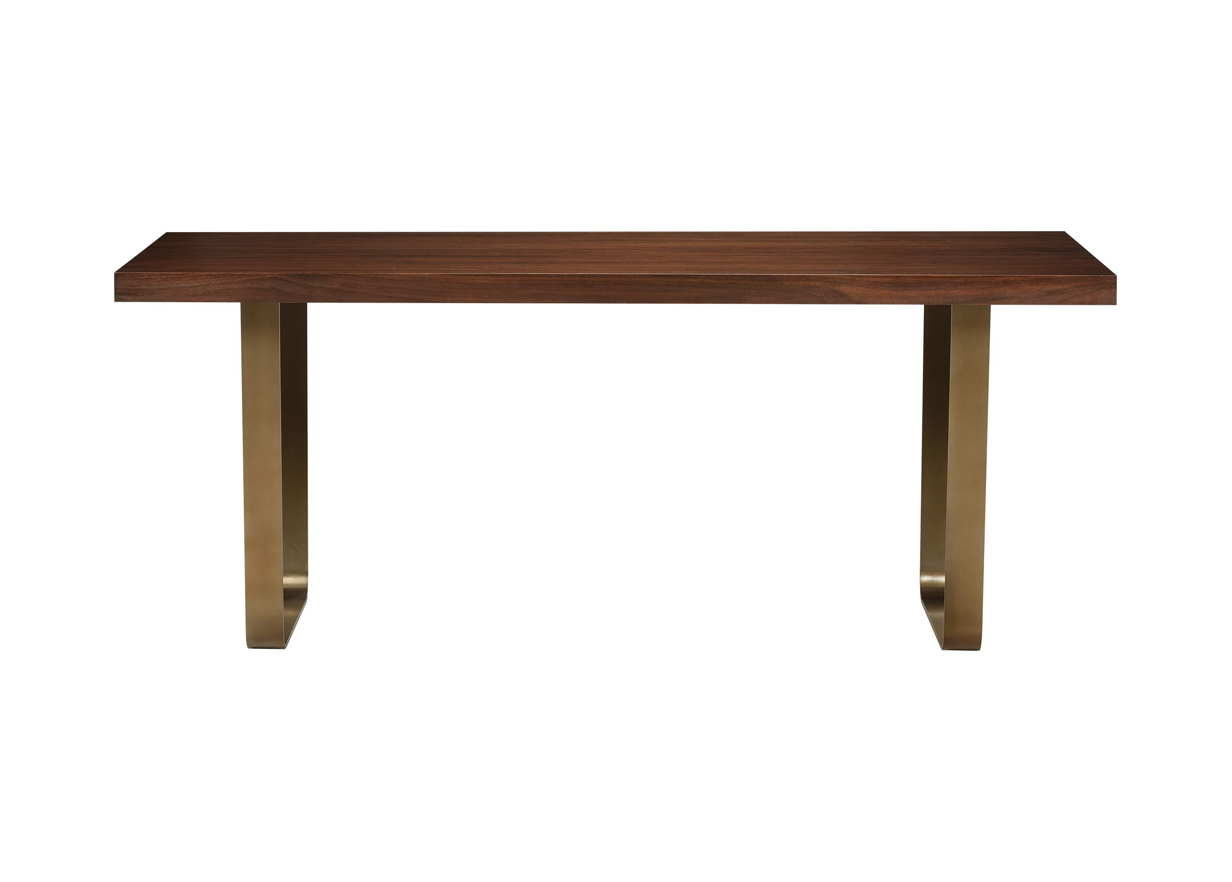 Most Recently Released Mid Century Rectangular Top Dining Tables With Wood Legs For Hoyt Wood And Metal Midcentury Modern Dining Table (View 10 of 30)