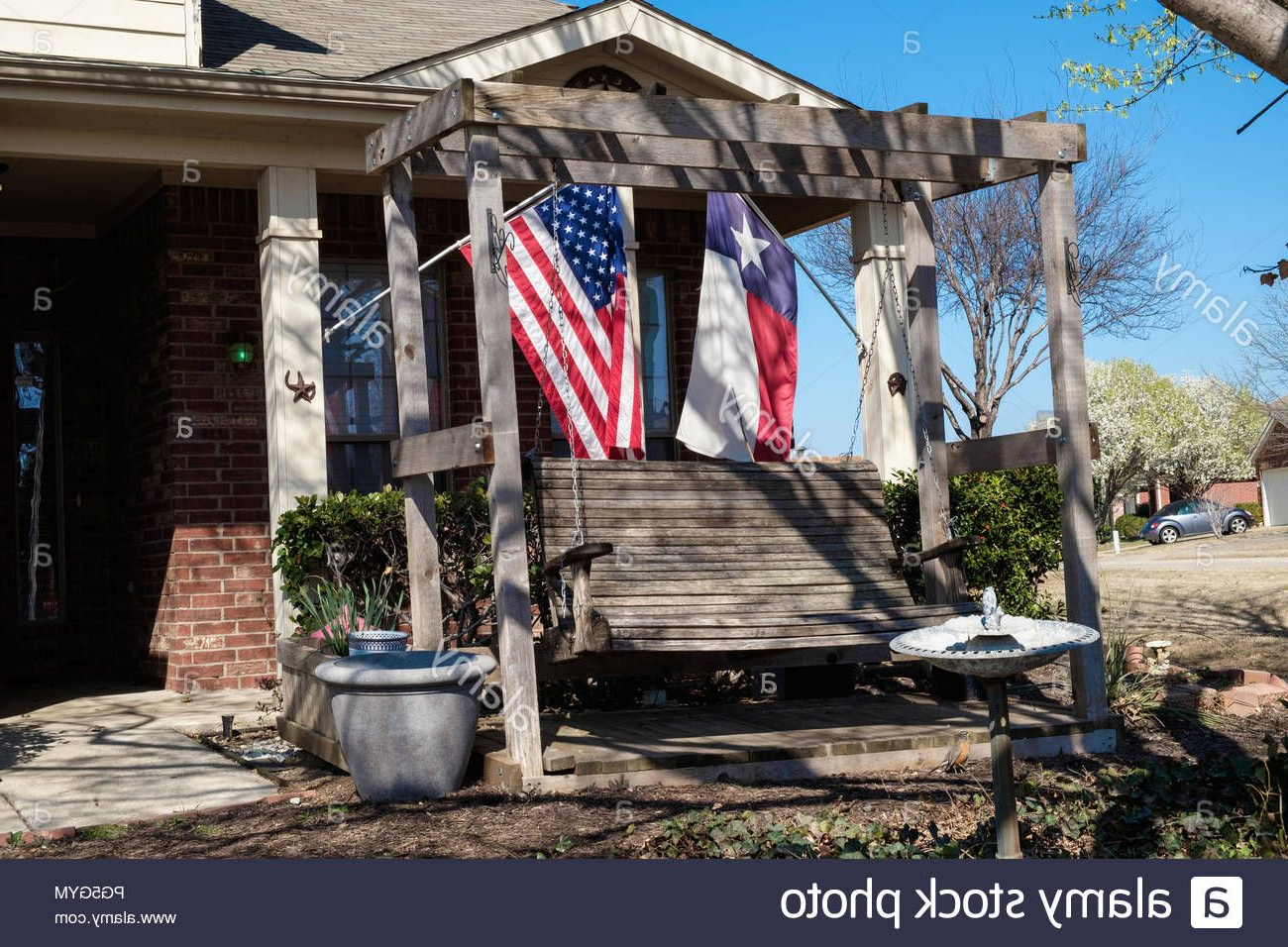 Most Recently Released Pin On Stock Photosjudi Saunders With Regard To American Flag Porch Swings (View 20 of 30)