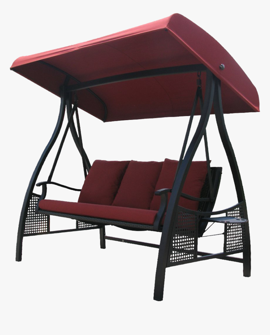 Most Recently Released Porch Swing With Canopy , Png Download – 3 Person Outdoor In Porch Swings With Canopy (View 18 of 30)