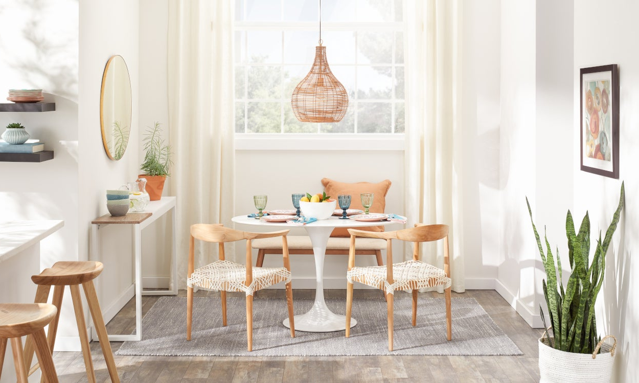 Most Recently Released Solid Wood Circular Dining Tables White Intended For Best Small Kitchen & Dining Tables & Chairs For Small Spaces (View 26 of 30)
