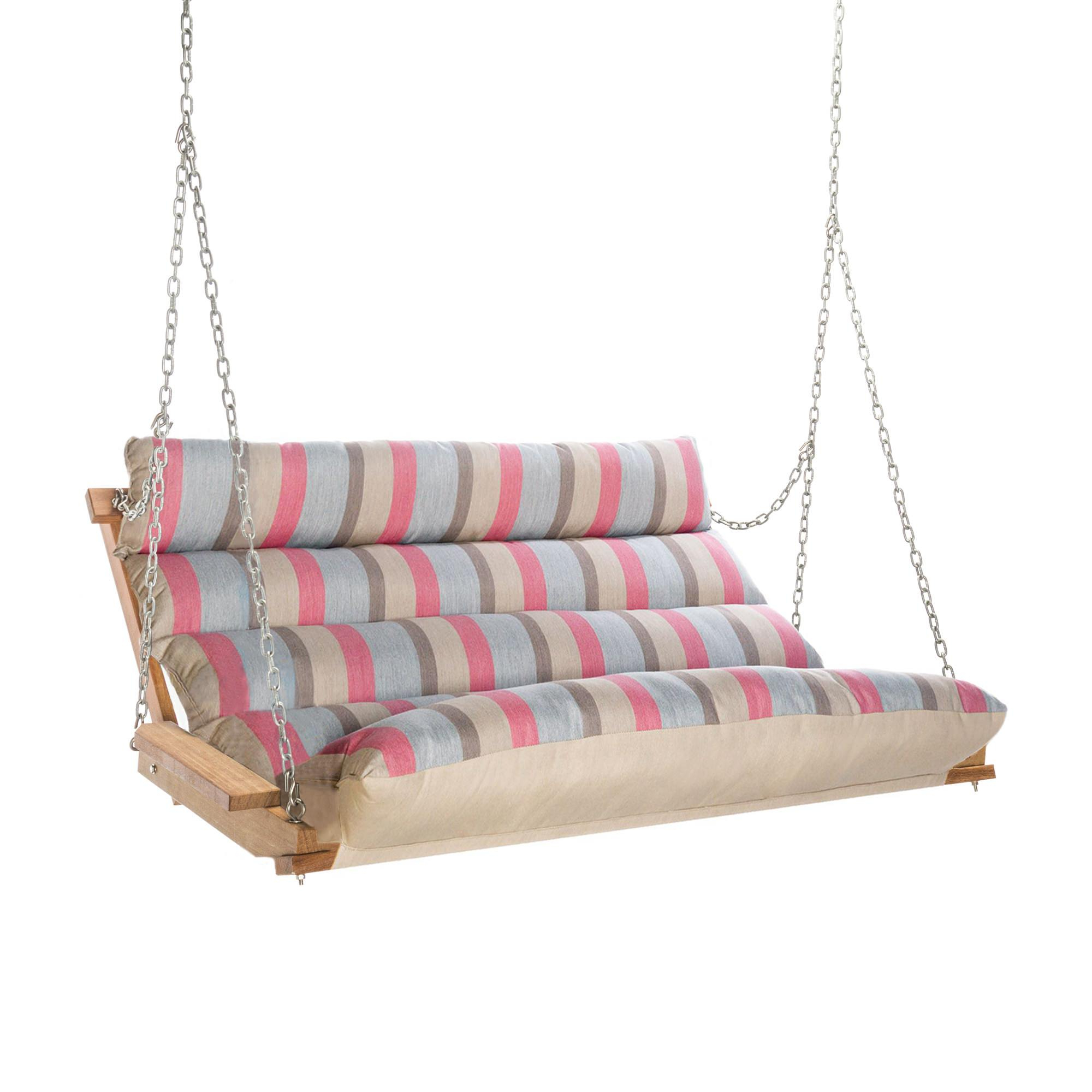 Most Recently Released Welcome To Hatteras Hammocks Pertaining To Deluxe Cushion Sunbrella Porch Swings (View 9 of 30)