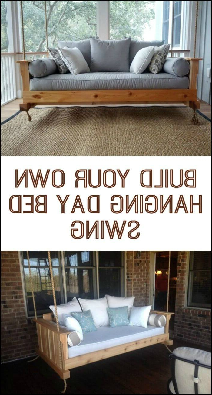 Most Up To Date Country Style Hanging Daybed Swings In 21 Best Diy Porch Swing Bed Ideas And Designs For 2020 (Gallery 27 of 30)