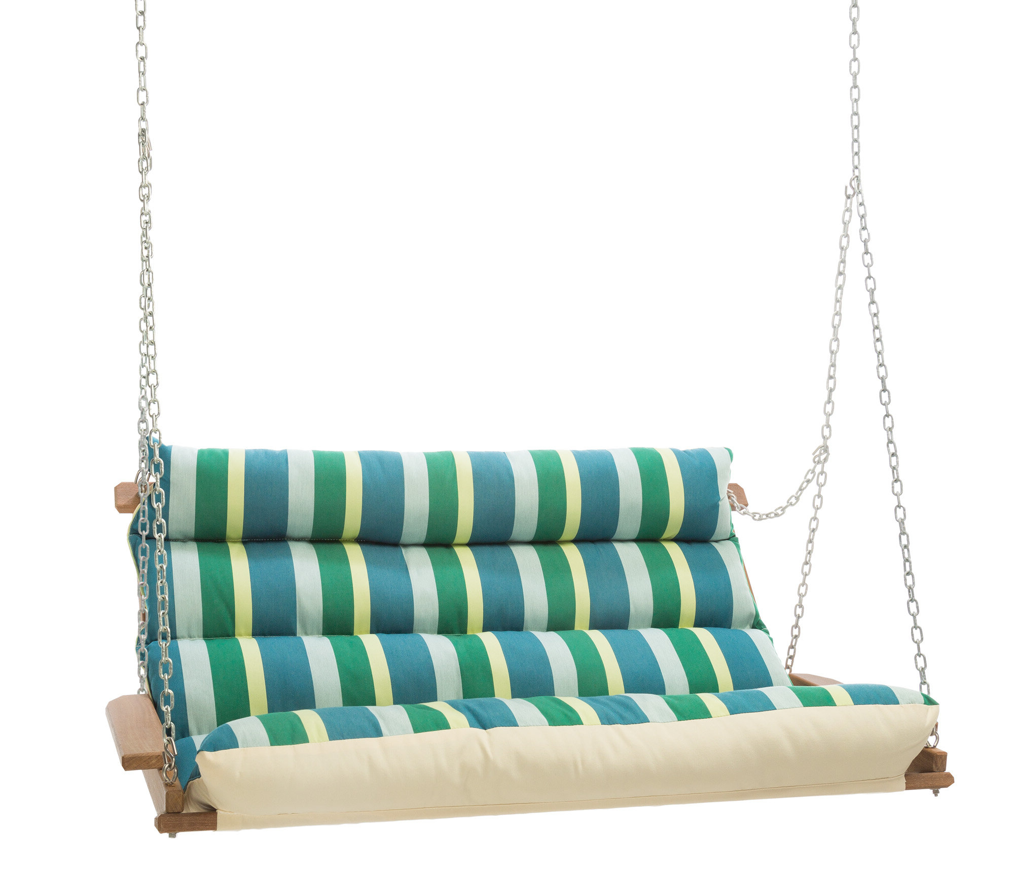 Most Up To Date Deluxe Cushion Sunbrella Porch Swings For Pacheco Deluxe Sunbrella Porch Swing (View 4 of 30)