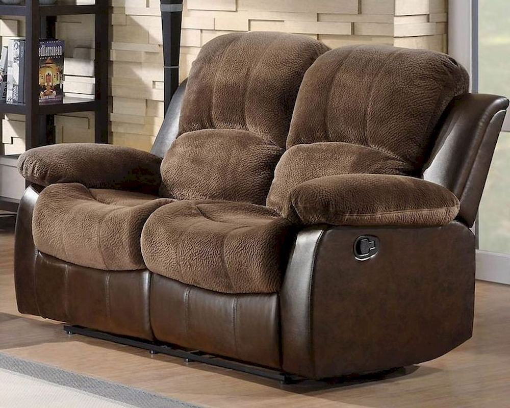 Most Up To Date Double Glider Loveseats Within Double Glider Reclining Loveseat Cranleyhomelegance El (Gallery 3 of 30)