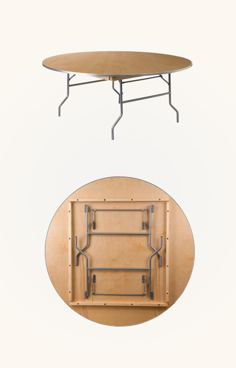 Most Up To Date Eames Style Dining Tables With Chromed Leg And Tempered Glass Top Regarding Large 72 Inch Round Birchwood Folding Dining Table Wood Top (Gallery 27 of 30)