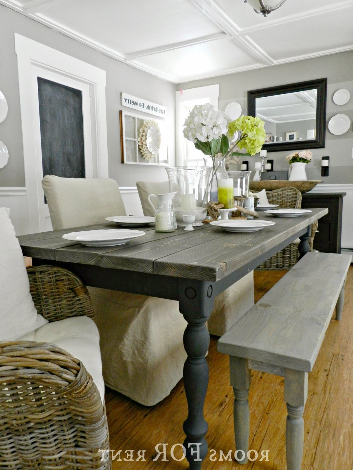 Most Up To Date How To Build A Farmhouse Dining Table – Using Stock Lumber Throughout Country Dining Tables With Weathered Pine Finish (View 17 of 30)