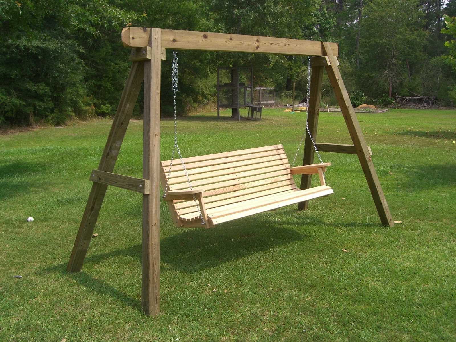 Most Up To Date How To Build Swing Stand (Gallery 11 of 30)