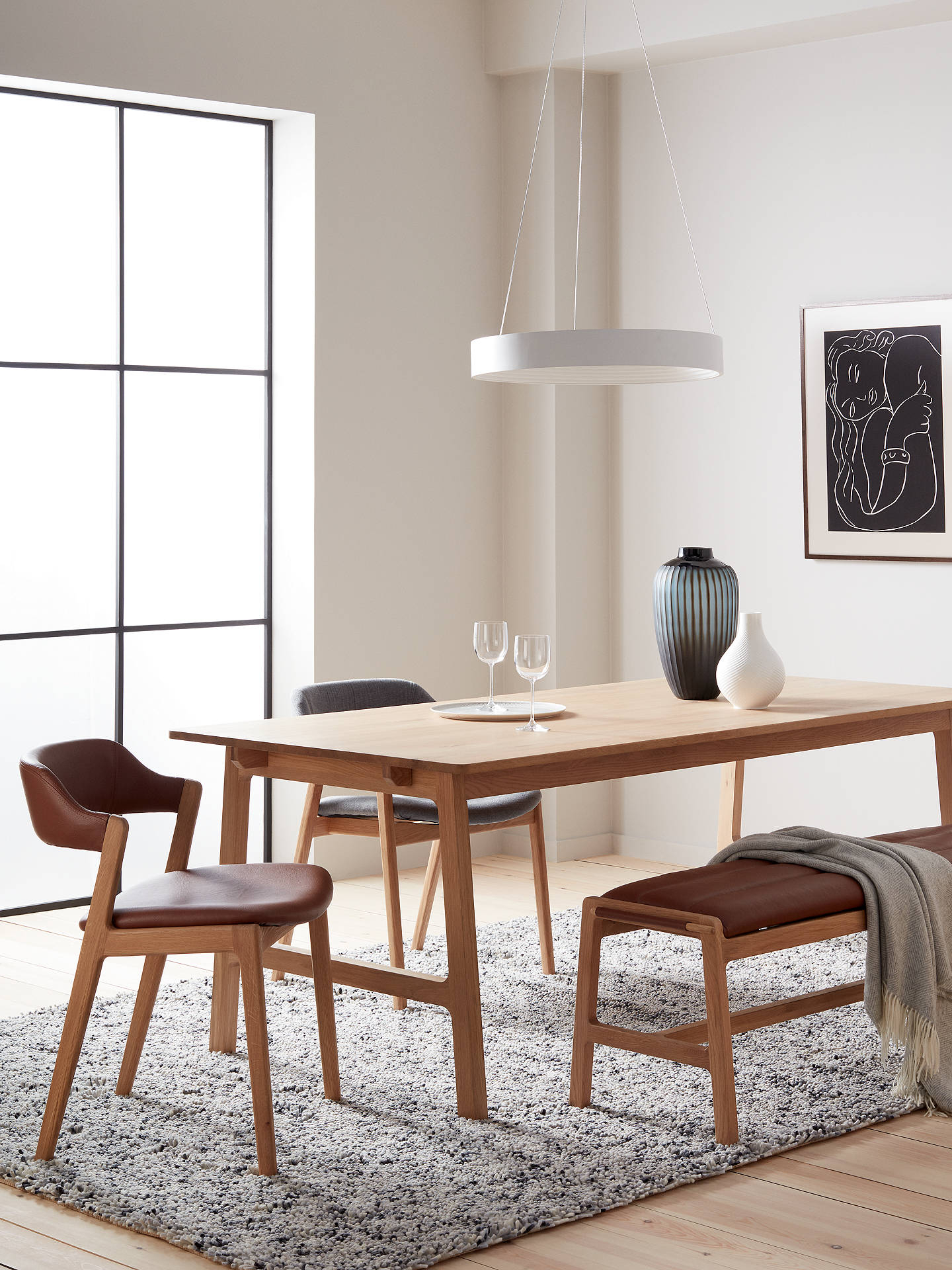 Most Up To Date John Lewis & Partners Santino 8 10 Seater Extending Dining Inside 8 Seater Wood Contemporary Dining Tables With Extension Leaf (View 15 of 30)