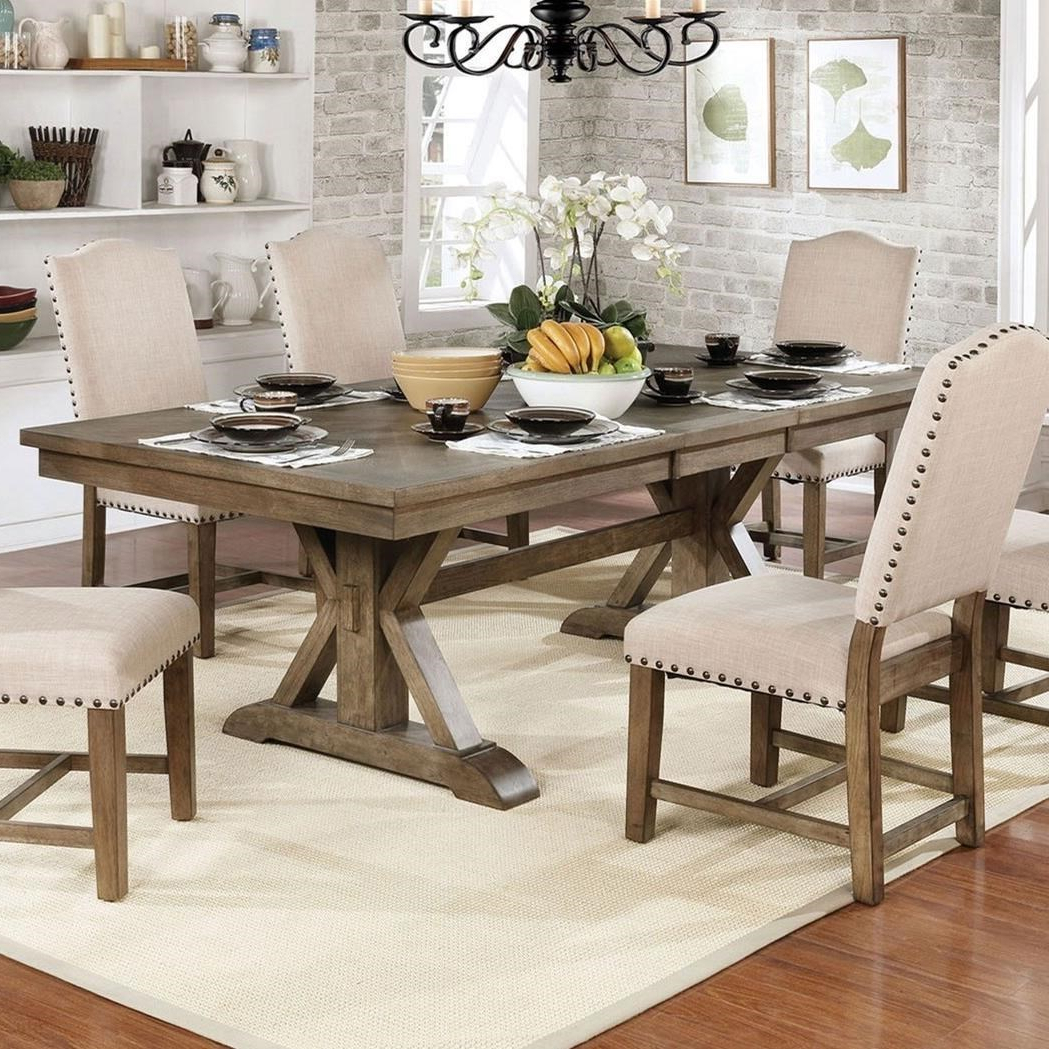 Most Up To Date Julia Dining Table With Regard To Transitional Rectangular Dining Tables (Gallery 18 of 30)