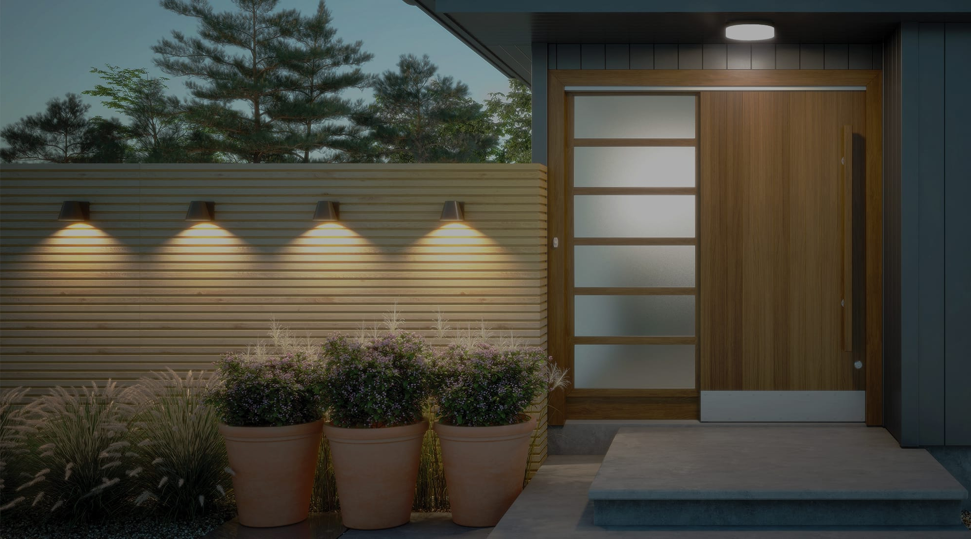 Most Up To Date Lamp Outdoor Porch Swings Throughout Porch Lighting Ideas (View 28 of 30)