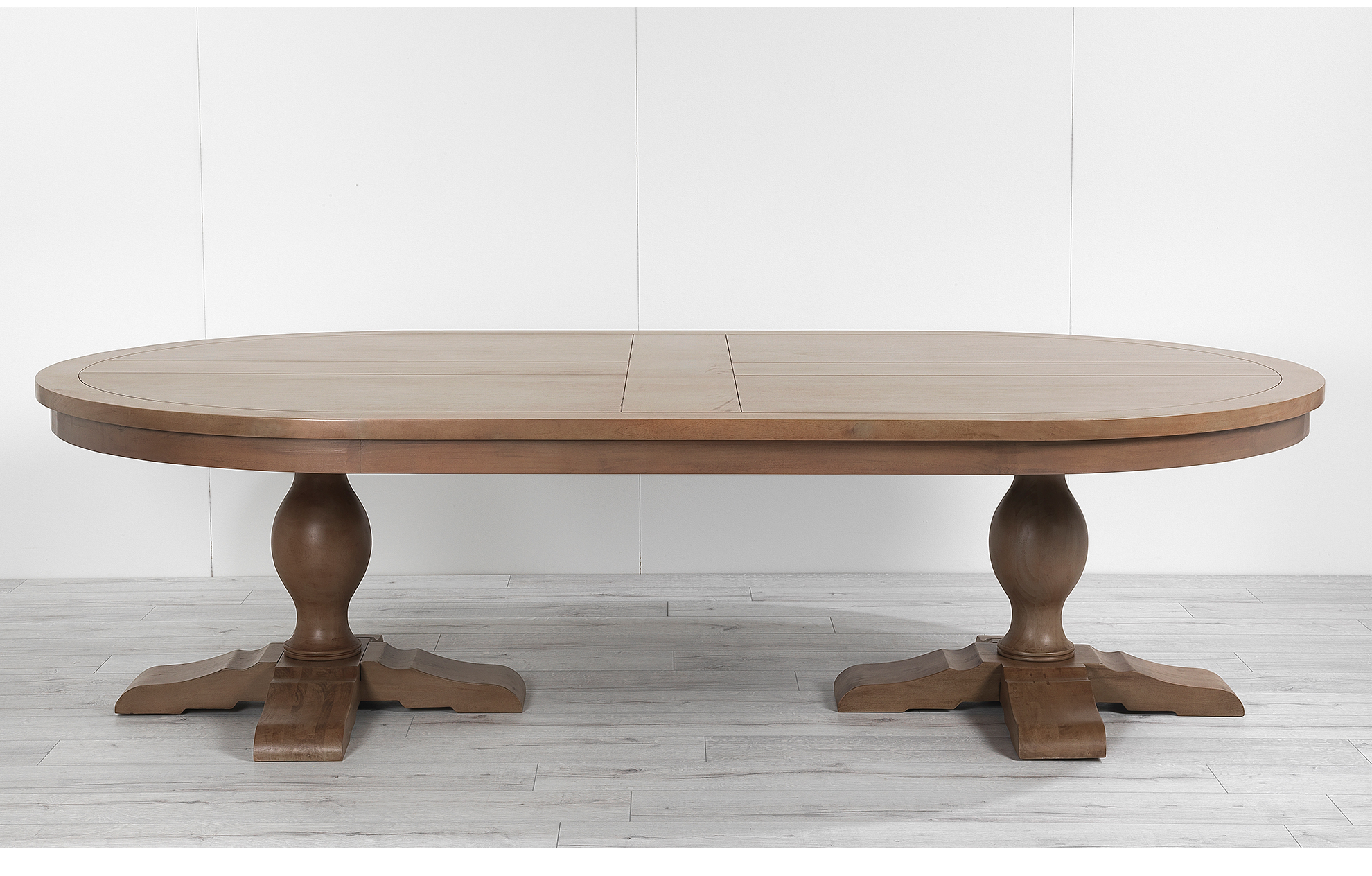 Most Up To Date Morris Round Dining Tables Throughout Balmoral 280Cm Oval Dining Table With Two Person Delivery (Gallery 9 of 30)