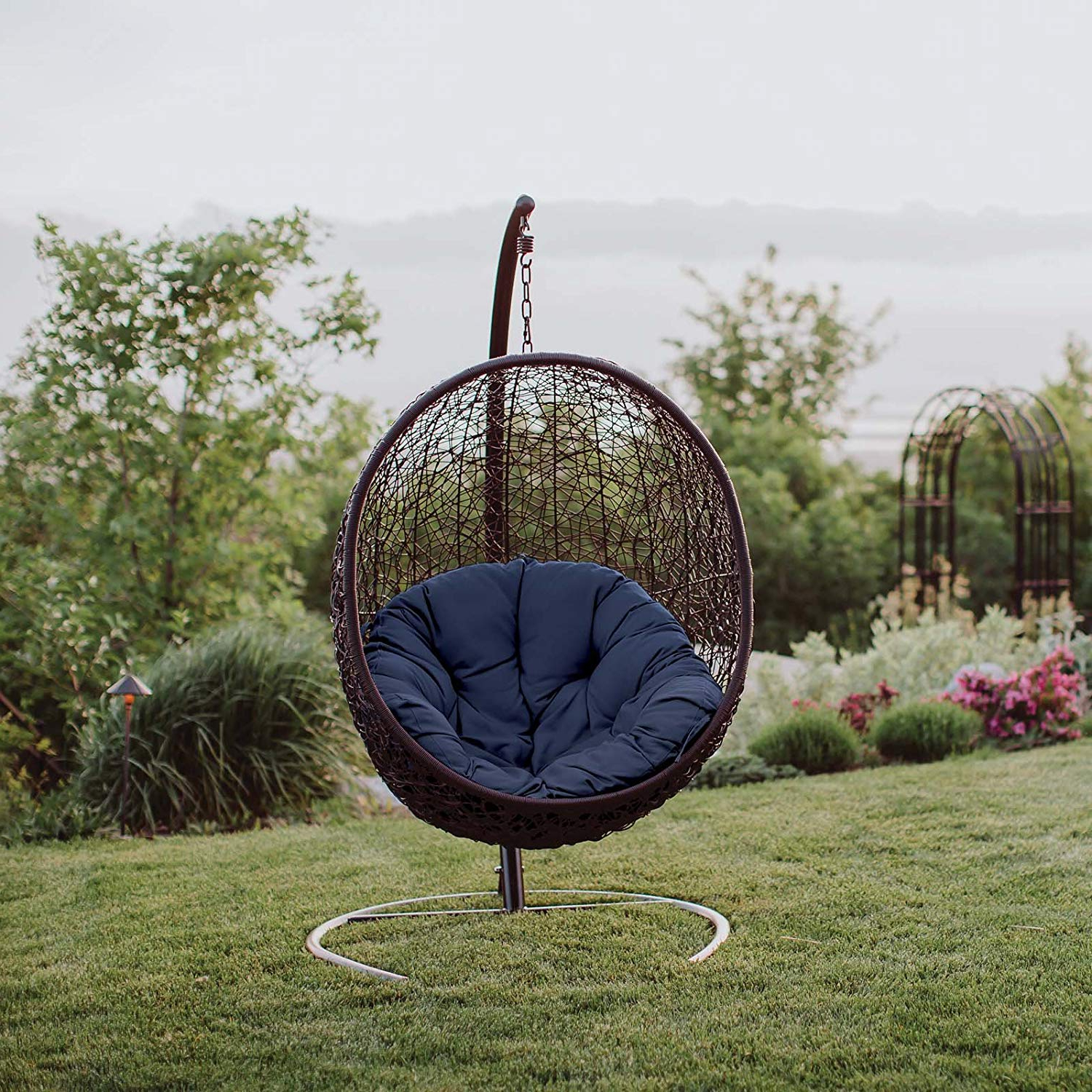 Most Up To Date Outdoor Wicker Plastic Tear Porch Swings With Stand Throughout 10 Best Egg Chairs Of 2020 (review & Guide) – Thebeastreviews (Gallery 10 of 30)