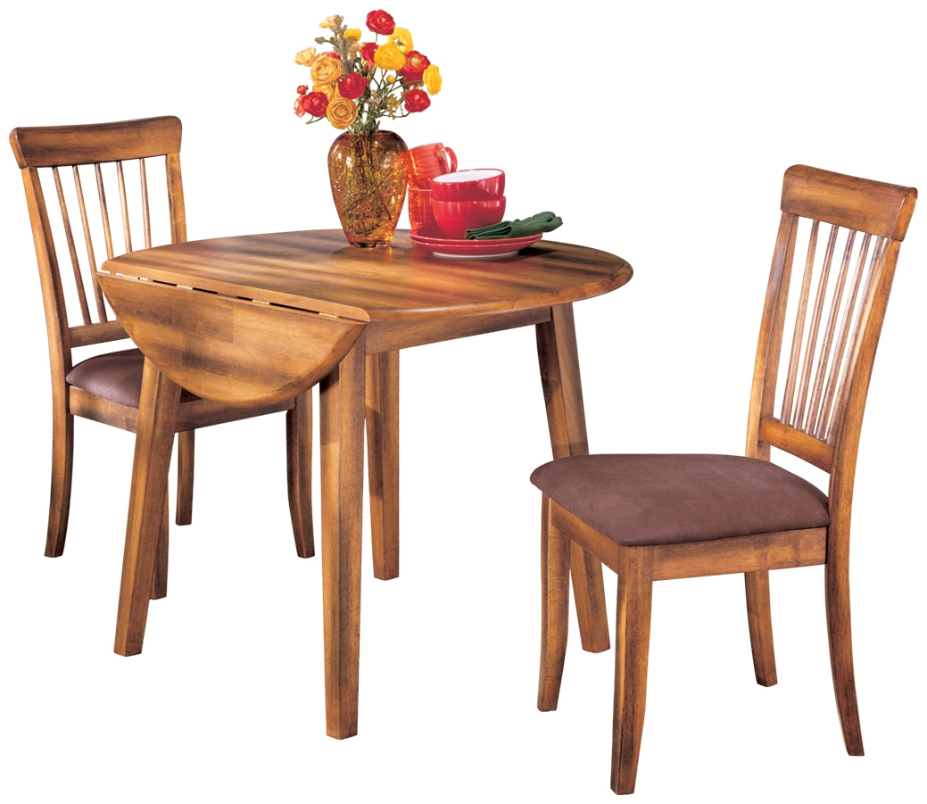 Most Up To Date Transitional 4 Seating Double Drop Leaf Casual Dining Tables With Signature Designashley – Berringer Round Dining Room (View 25 of 30)