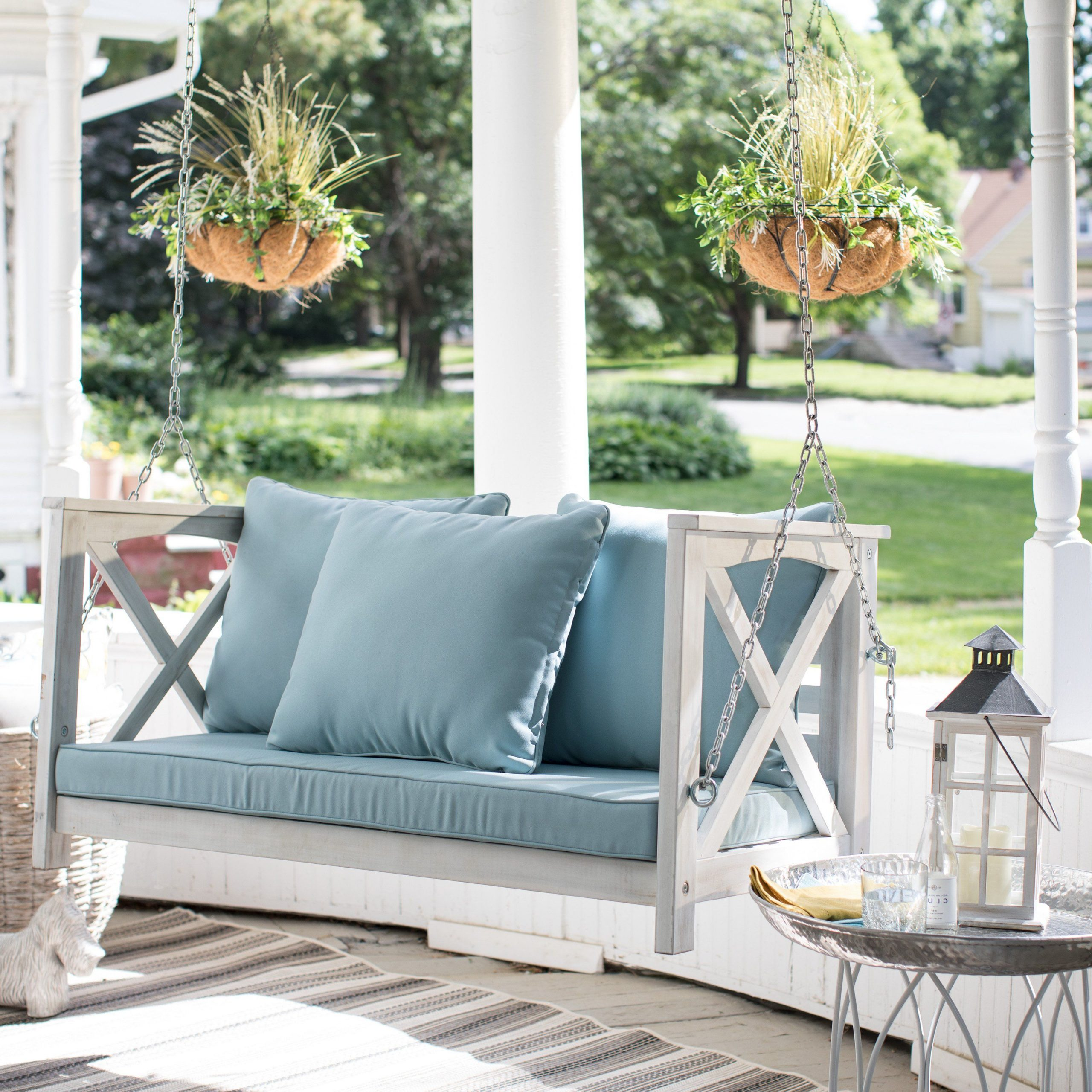 Nautical Porch Swings Throughout Well Known Coral Coast Delanie Rose 4 Ft (View 20 of 30)