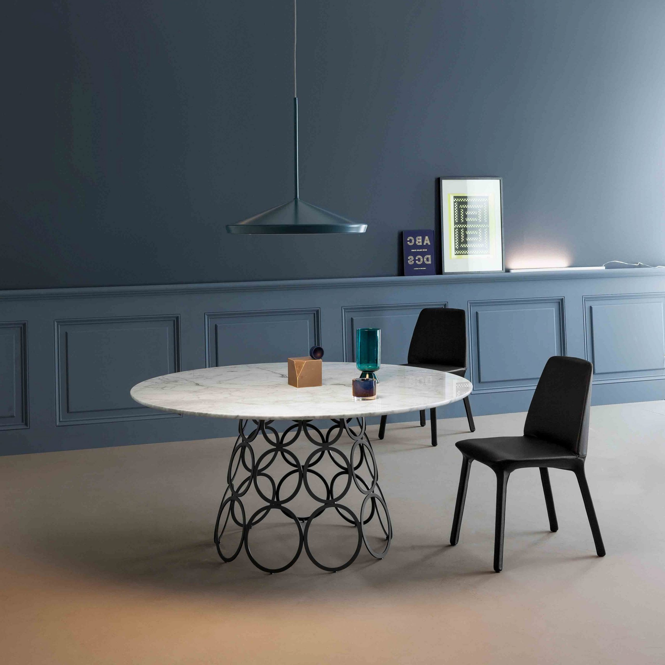 Neo Round Dining Tables For 2018 Hulahoop Round Dining Table, Bonaldo Italy – Neo Furniture (Gallery 11 of 30)