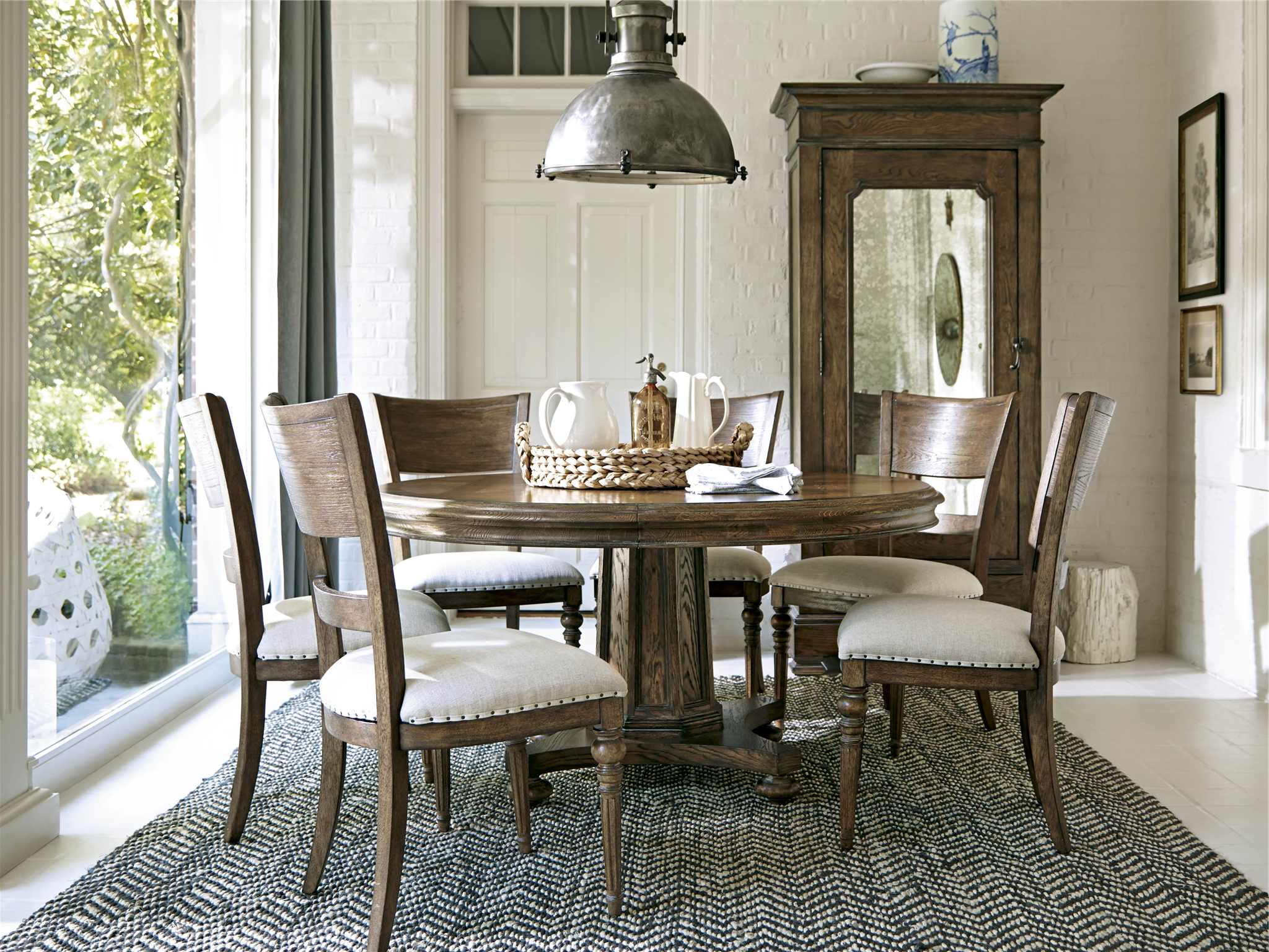 New Bohemian – Round Dining Table (View 3 of 30)