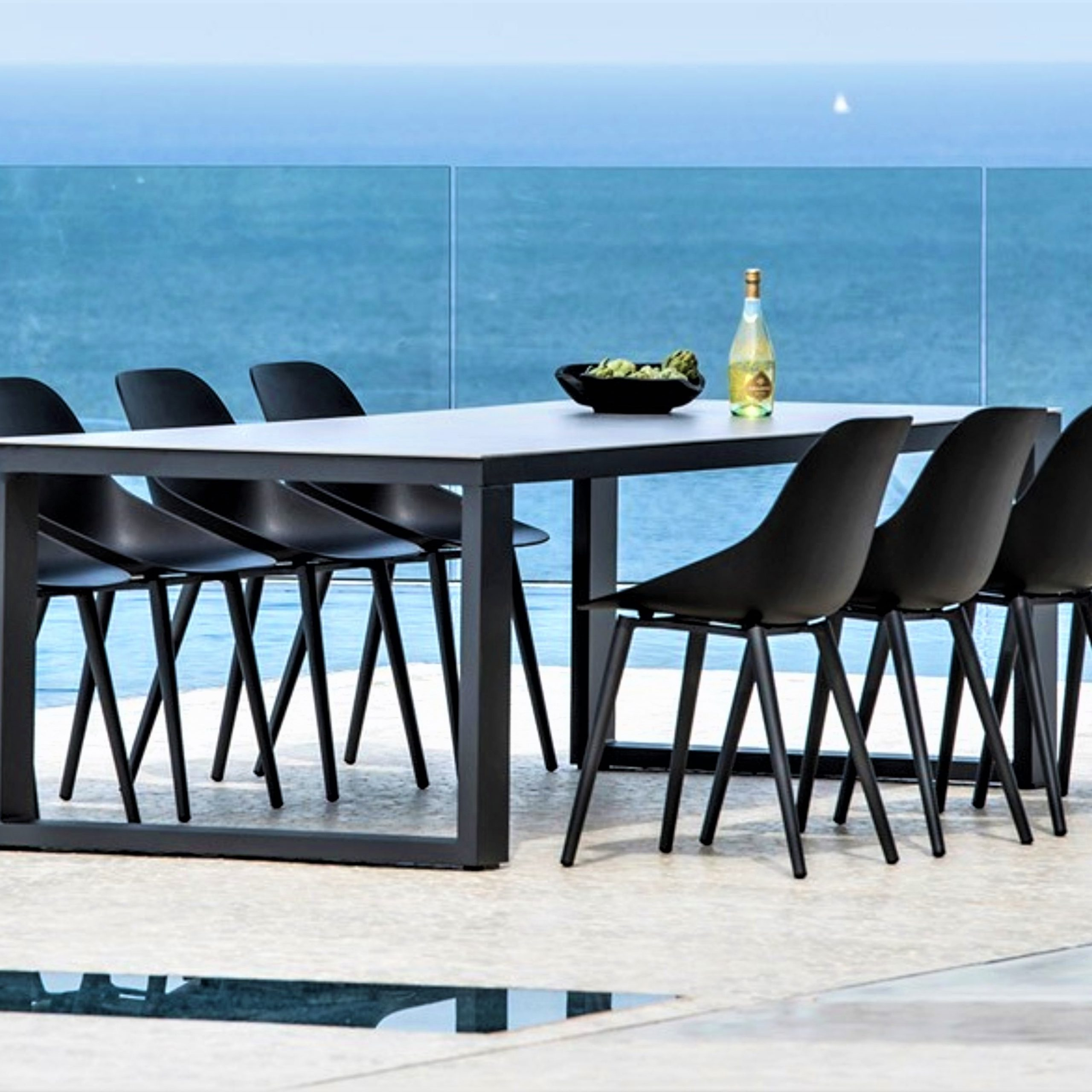 Newest 8 Seater Wood Contemporary Dining Tables With Extension Leaf Throughout Abonne Carrara Ceramic Extendable Dining Table Metro (View 17 of 30)