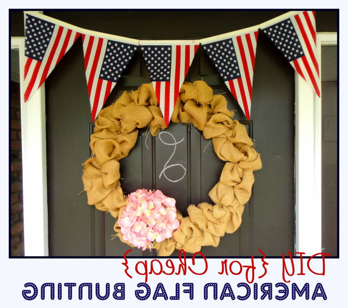 Newest American Flag Porch Swings Inside American Flag Bunting Tutorial (View 23 of 30)