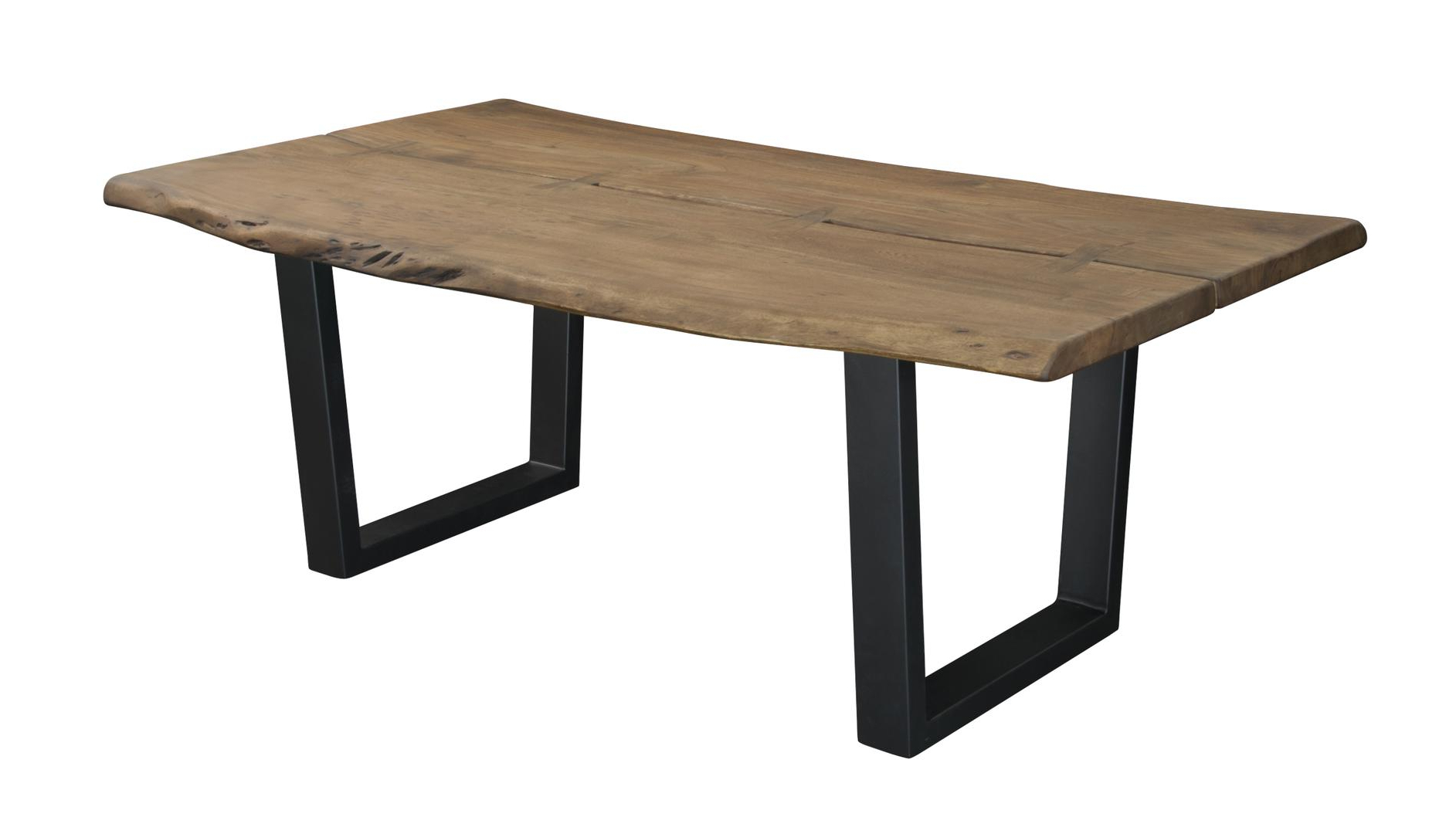 Newest Coast To Coast 75354 Pertaining To Acacia Top Dining Tables With Metal Legs (View 7 of 30)
