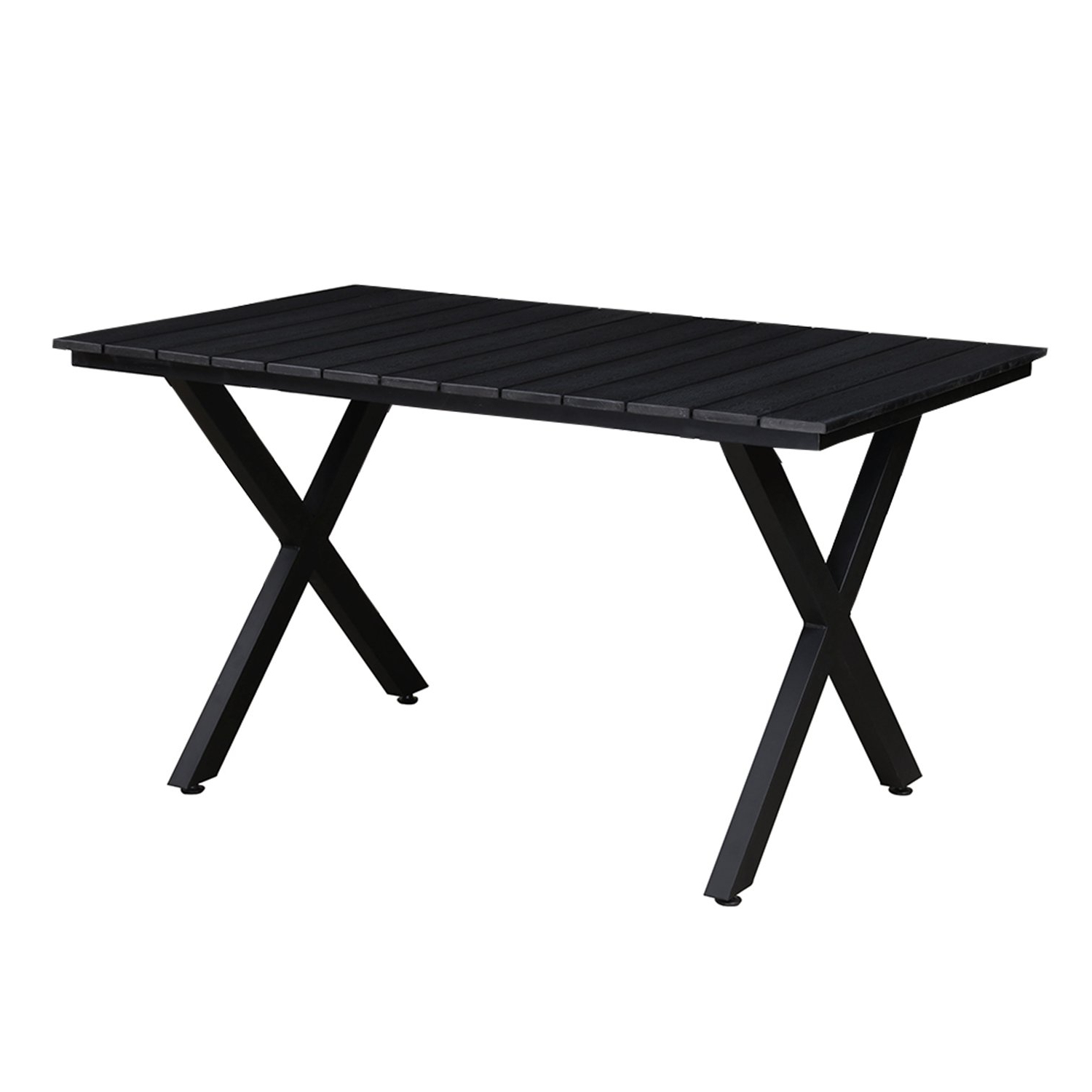 Newest Contemporary Rectangular Dining Tables For Amazon : Oakland Living Az902 Table Bk Modern Outdoor (Gallery 20 of 30)