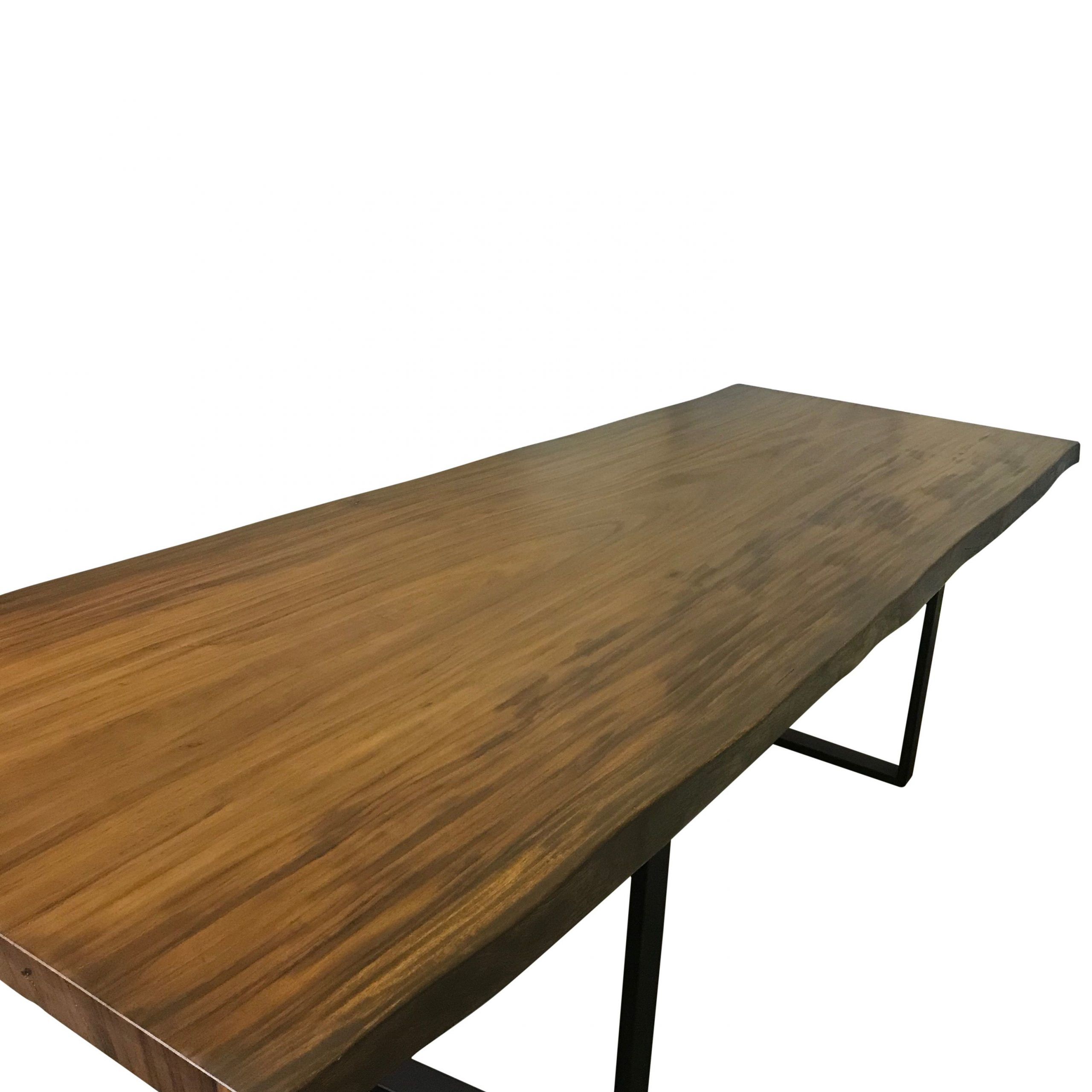 Newest Dining Tables With Black U Legs For Buy Custom 10Ft Live Edge Dining Table Made From Guanacaste (Gallery 25 of 30)