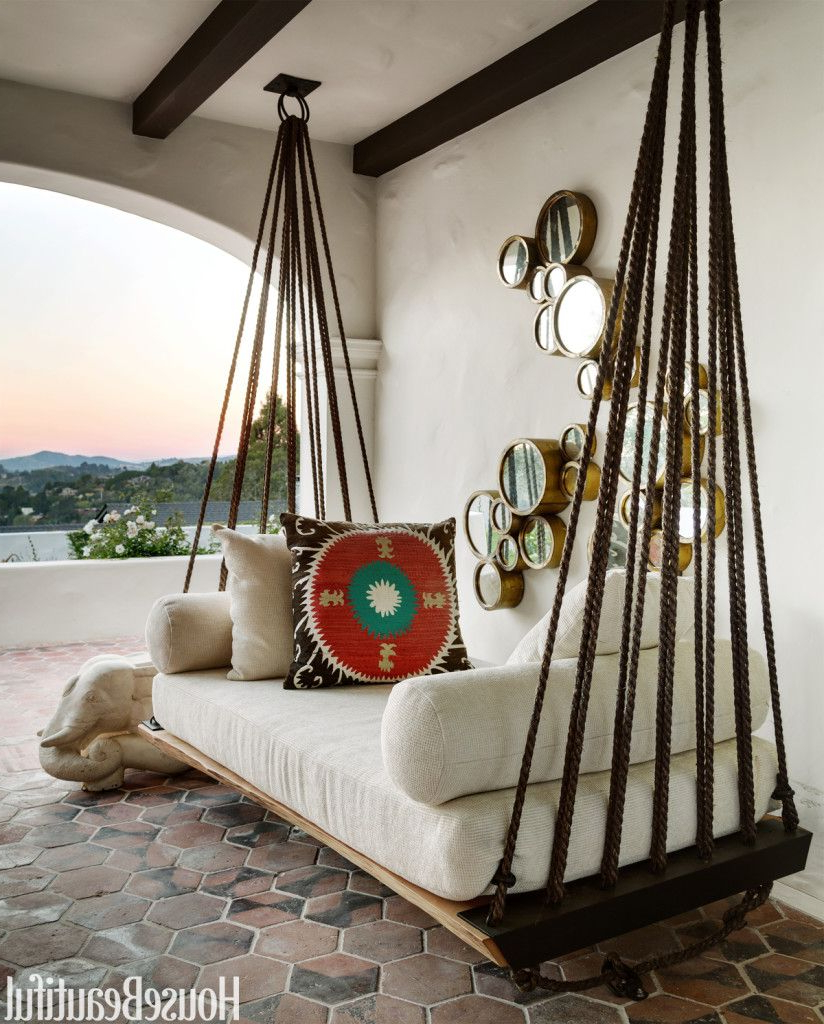 Newest Hanging Daybed Rope Porch Swings Inside Daydreaming: Outdoor Beds (View 22 of 30)
