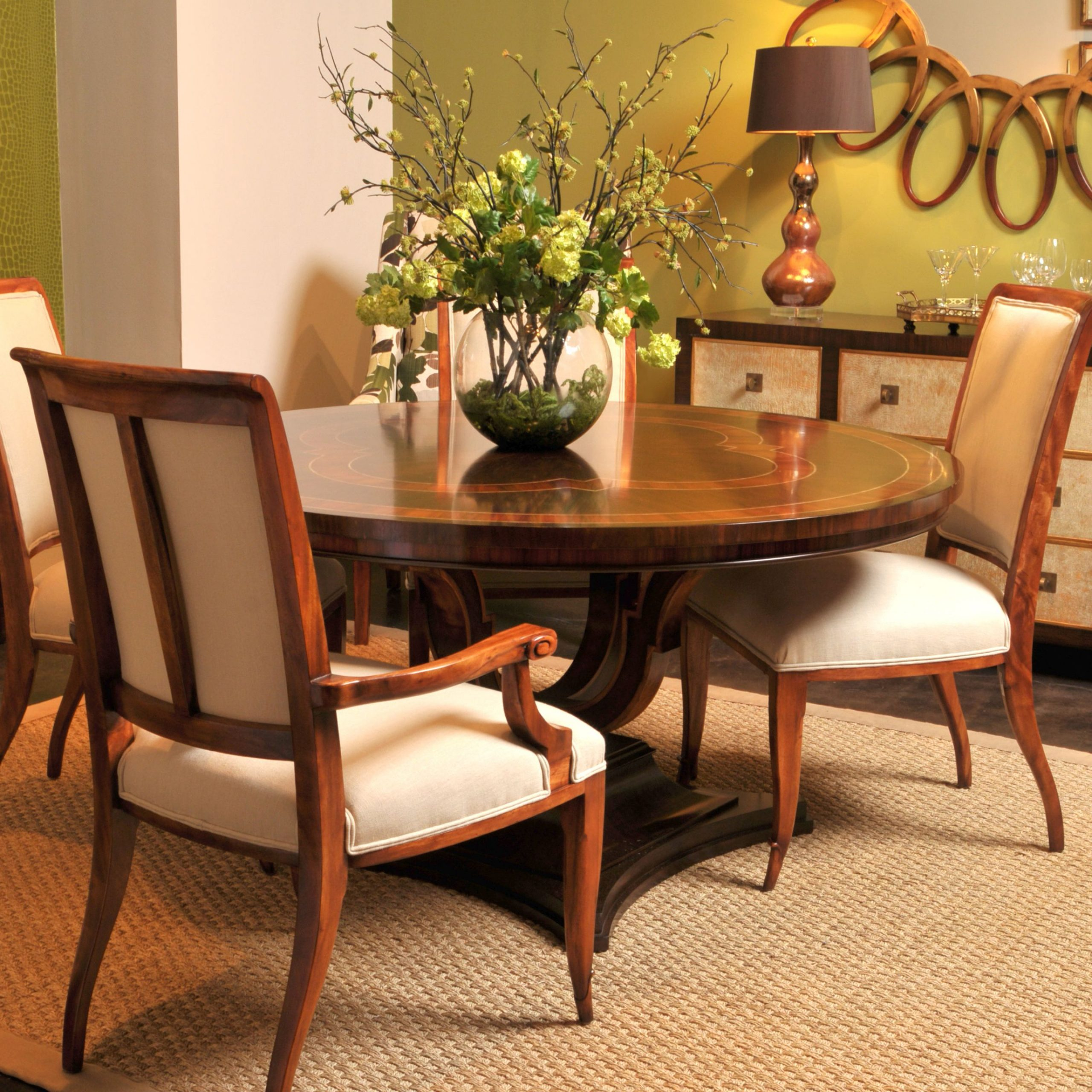 Newest Neo Round Dining Tables With The Rennes Round Dining Table Is A Neo Classical Round (View 4 of 30)