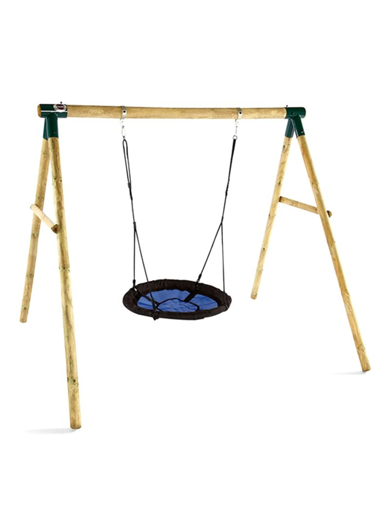 Newest Nest Swings With Adjustable Ropes In Shop Plum Spider Monkey Ii Garden Swing Set Online In Dubai (Gallery 17 of 30)