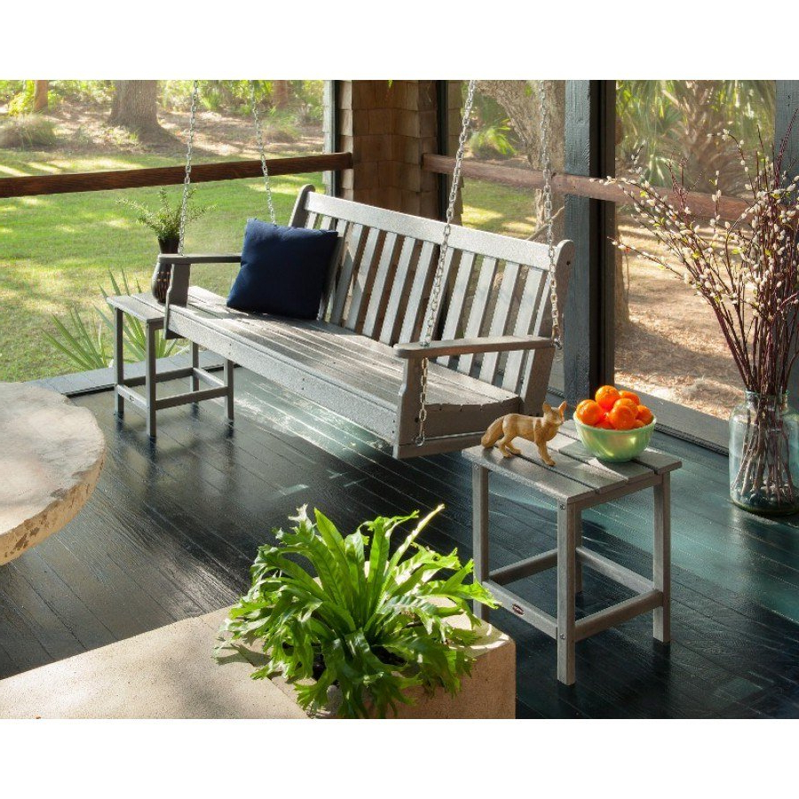 Newest Vineyard Porch Swings Pertaining To Polywood® Vineyard 60 Porch Swing (View 22 of 30)