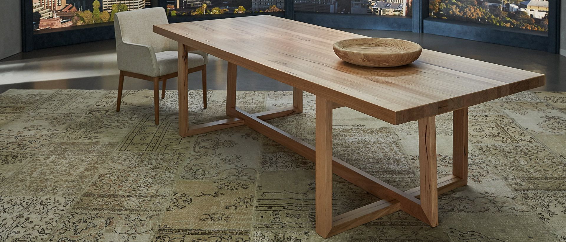 Nick Scali Within Favorite 4 Seater Round Wooden Dining Tables With Chrome Legs (Gallery 17 of 30)