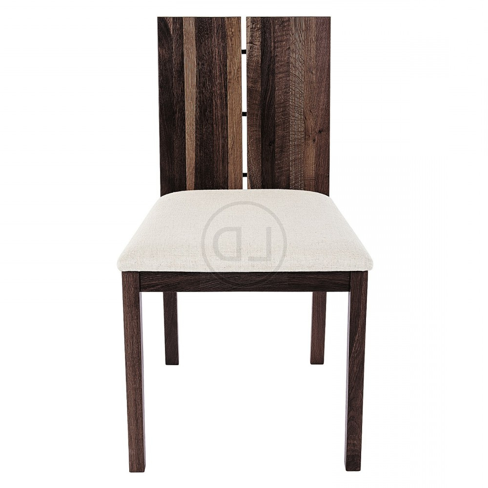Obi Seared Oak Split Back Dining Chair Pertaining To Most Recently Released Dining Tables In Smoked/seared Oak (View 21 of 30)
