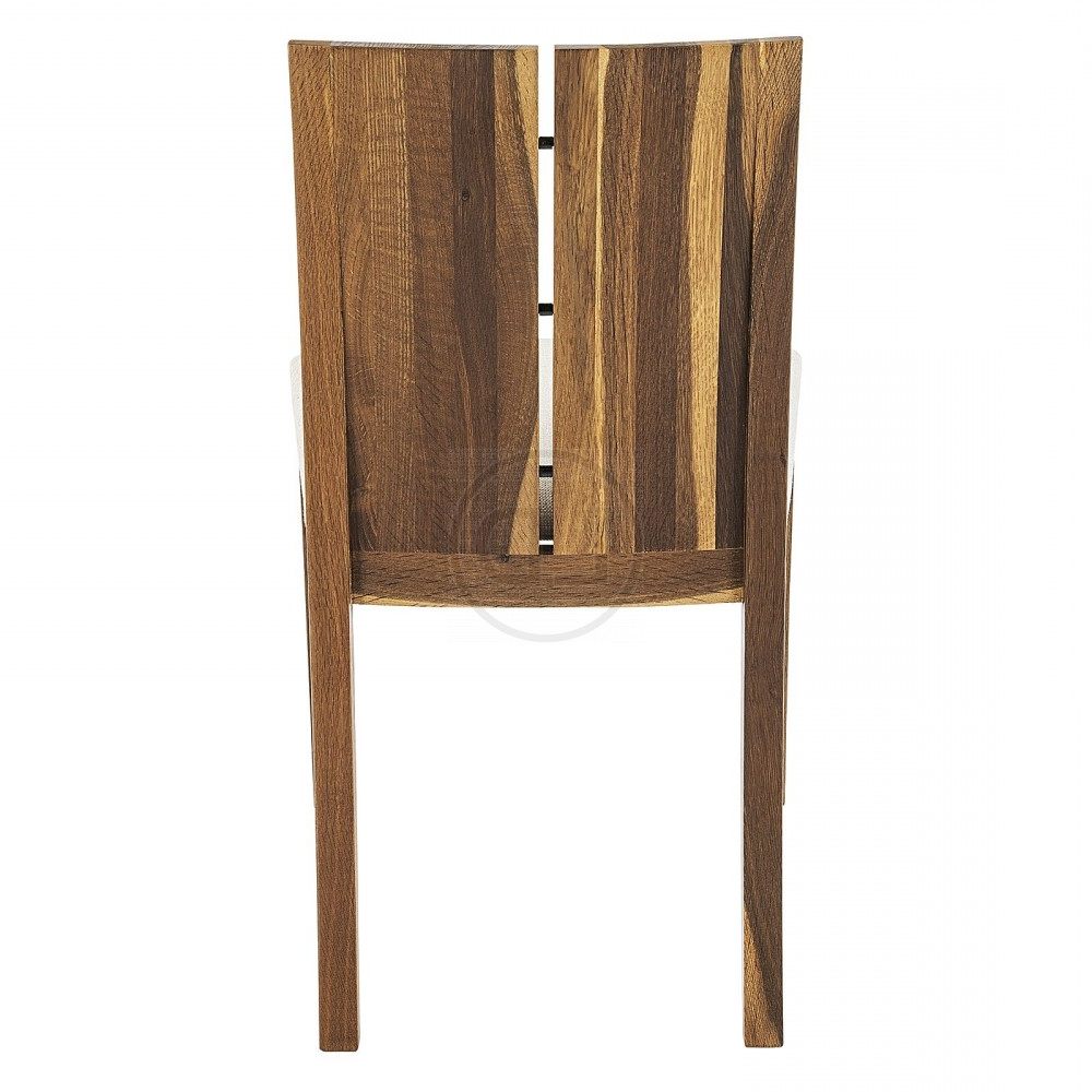 Obi Smoked Oak Split Back Dining Chair Within Latest Dining Tables In Smoked/seared Oak (View 16 of 30)