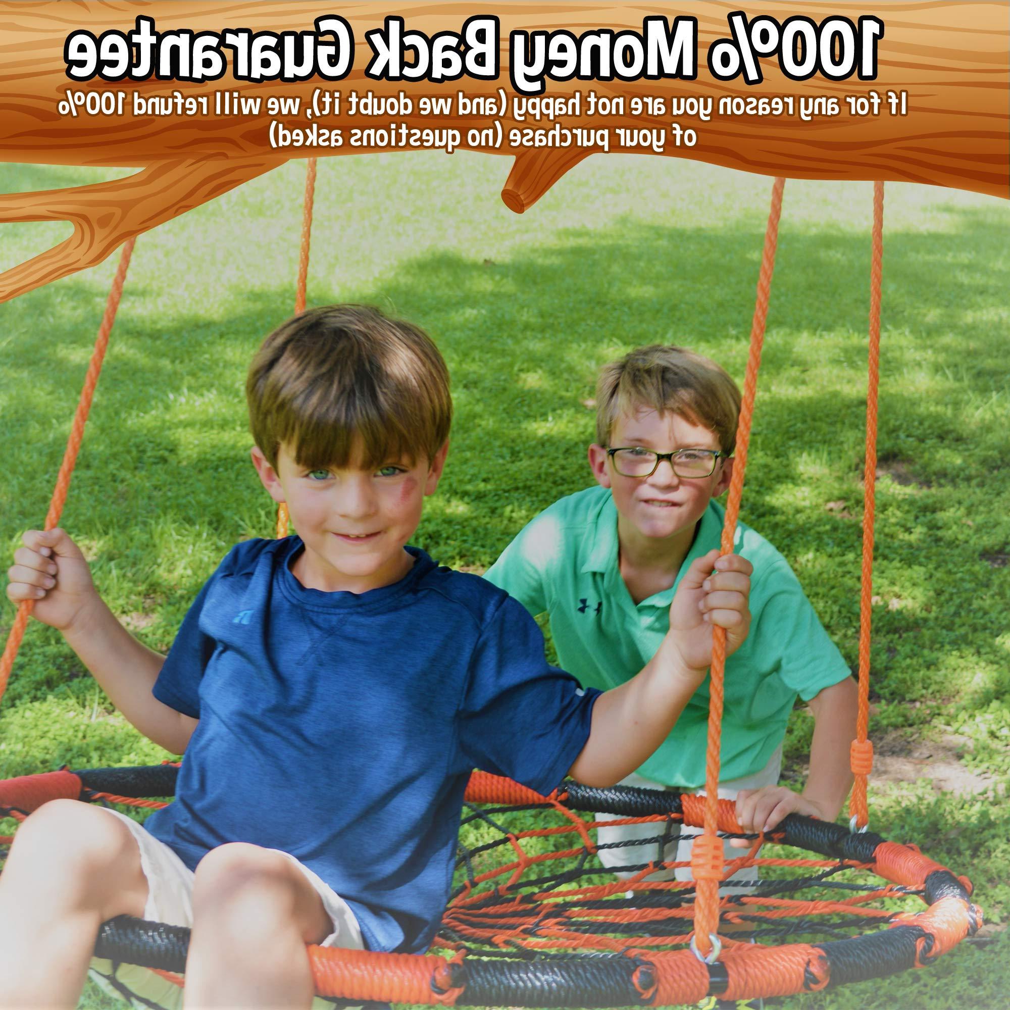 Orange Monkey Nest Swing (Gallery 15 of 30)