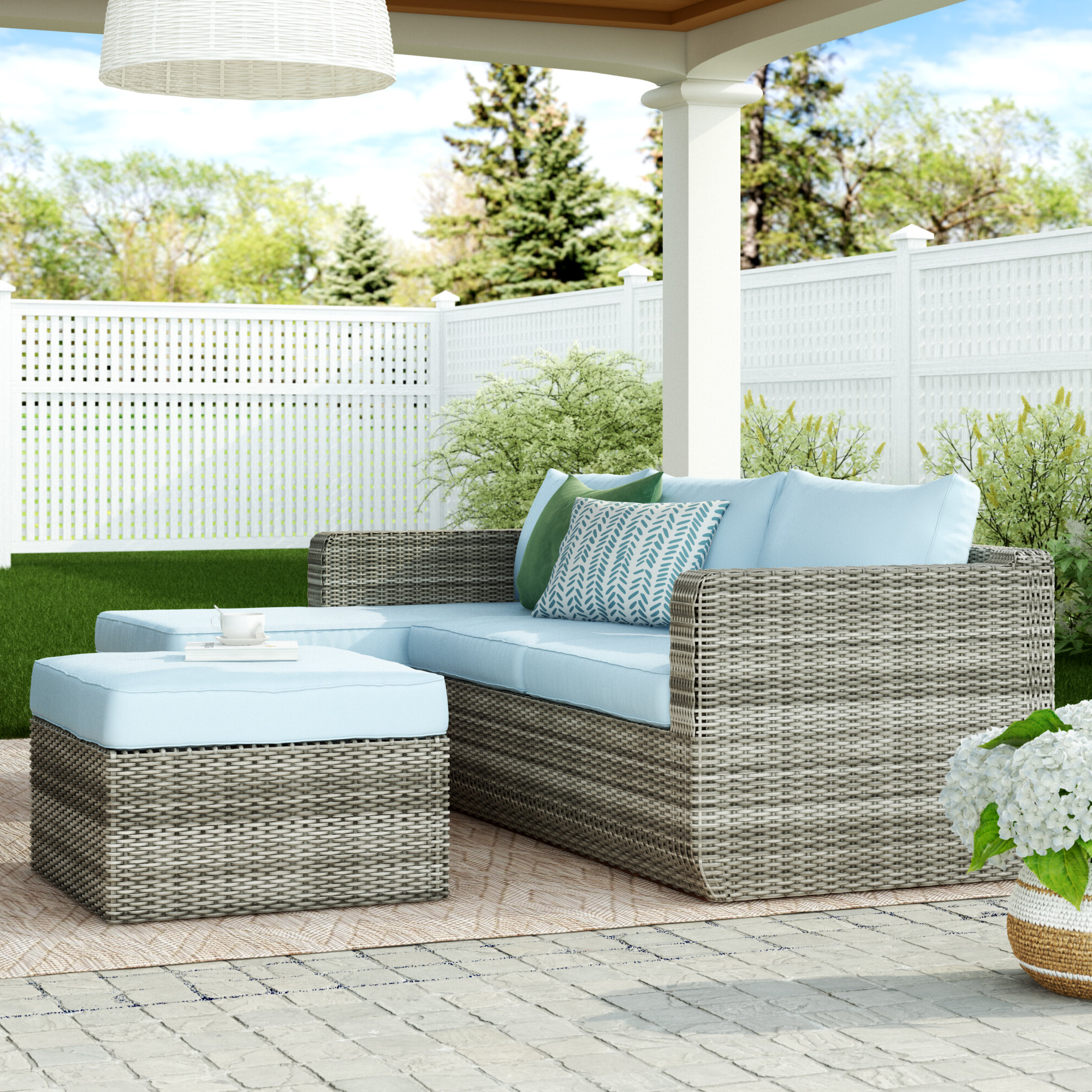 Outdoor Backyard Patio Garden Furniture Decor Glider Bench 2 Inside Popular Outdoor Fabric Glider Benches (View 20 of 30)