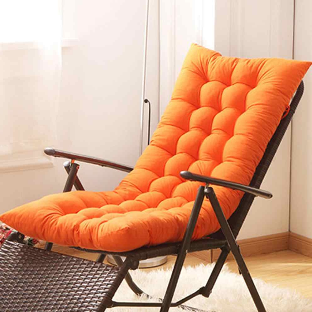 Outdoor Bench Cushion Garden Chair Cushion Bench Pillow Recliner Soft Back  Cushion Rocking Chair Seat Mat Recliner Supplies Inside Preferred Rocking Benches With Cushions (View 10 of 30)