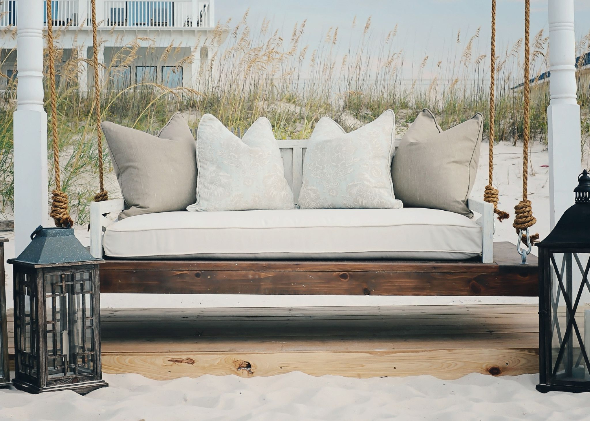 Outdoor Daybed, Porch Swing Cushions, Porch Swing (Gallery 4 of 30)