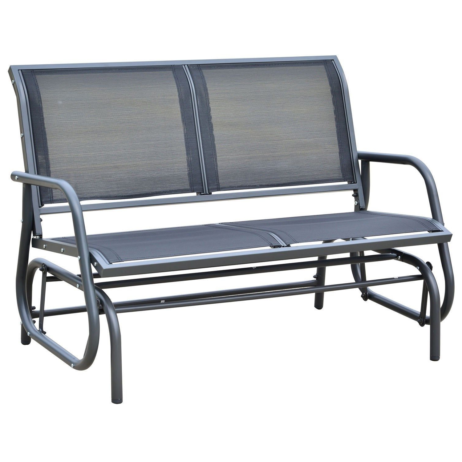 Outdoor Glider Bench Metal : Outdoor Decorations – What Is Throughout Most Up To Date Twin Seat Glider Benches (Gallery 27 of 31)