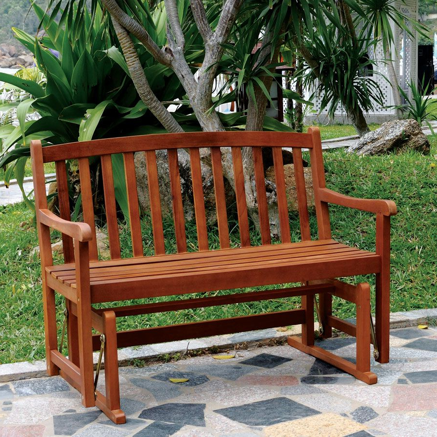 Outdoor Glider Throughout Classic Glider Benches (Gallery 27 of 30)