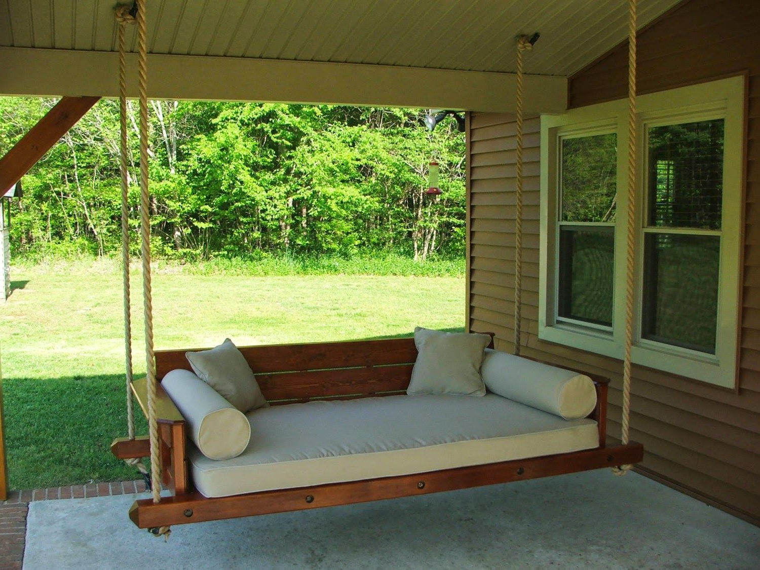 Outdoor Swing Bed Plans (View 25 of 30)