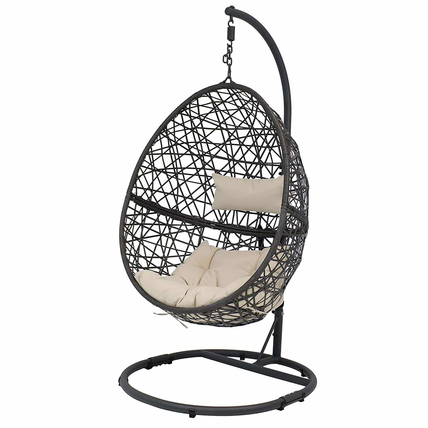 Outdoor Wicker Plastic Tear Porch Swings With Stand Throughout Most Current 10 Best Egg Chairs Of 2020 (Review & Guide) – Thebeastreviews (Gallery 28 of 30)